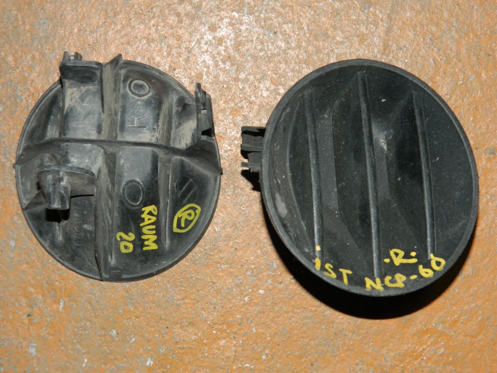 Заглушка противотуманной фары Toyota Ist NCP60 правая (б/у)
