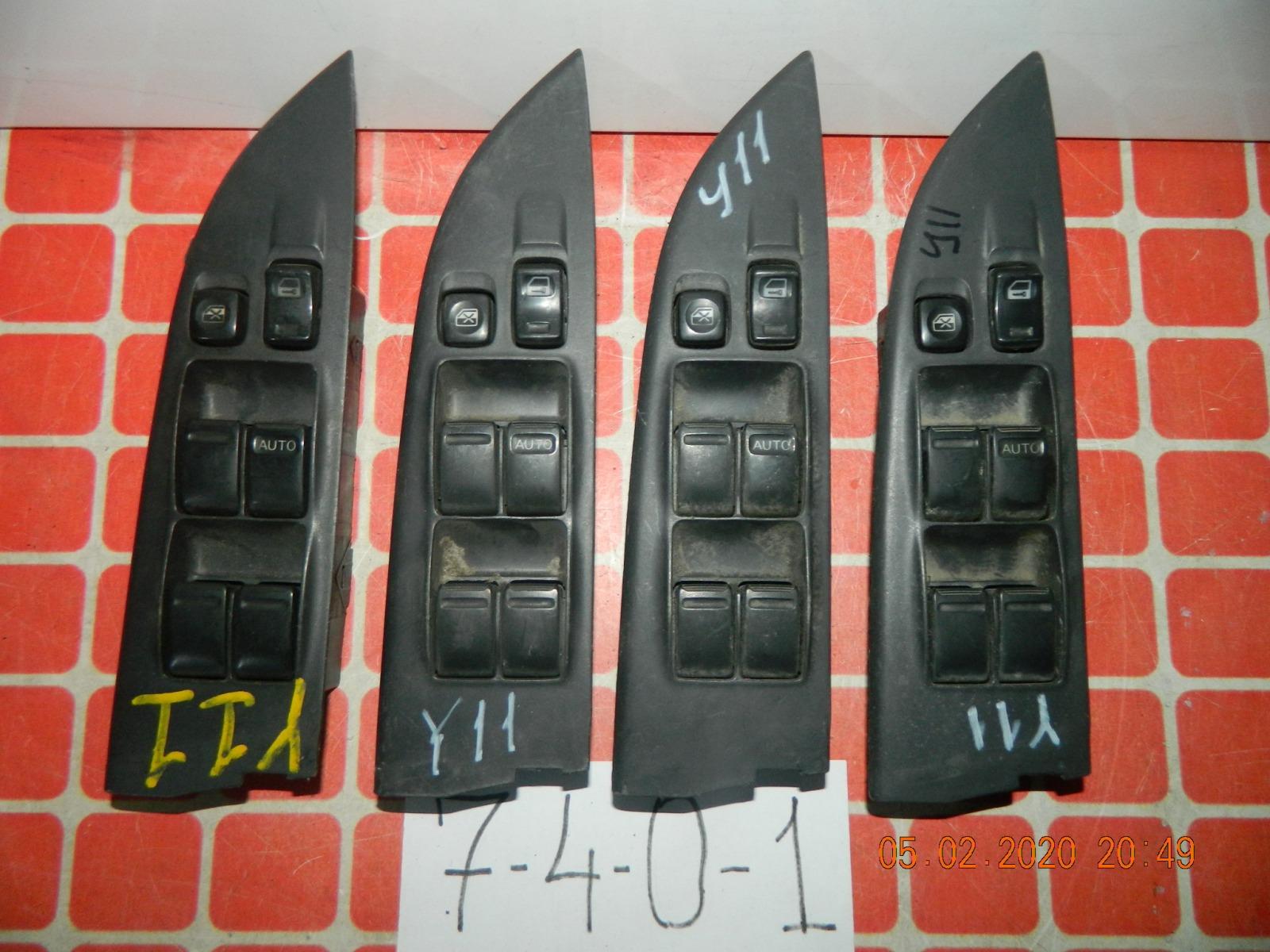 Блок управления стеклоподъемниками Nissan Wingroad Y11 (б/у)