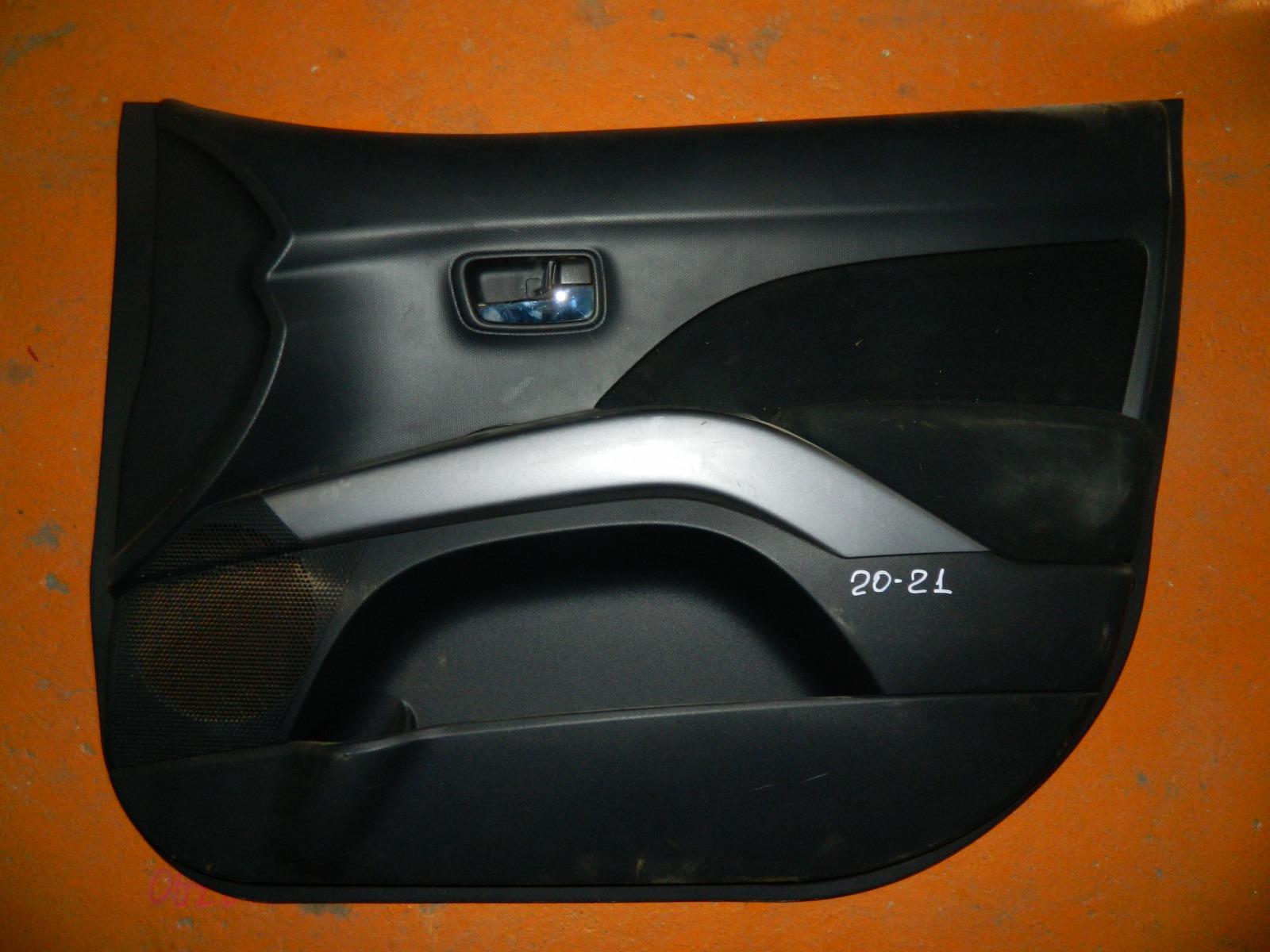 Обшивка дверей Mitsubishi Outlander Xl передняя правая (б/у)