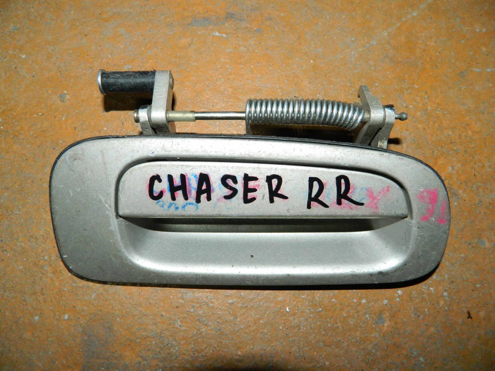 Ручка двери внешняя Toyota Chaser задняя правая (б/у)