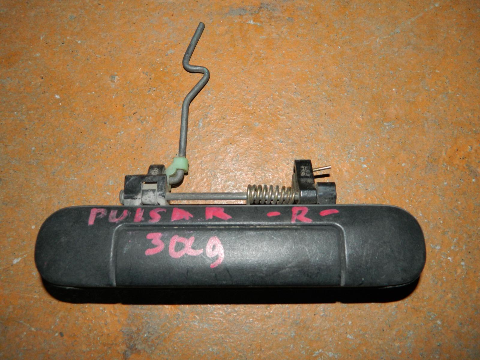 Ручка двери внешняя Nissan Pulsar задняя правая (б/у)