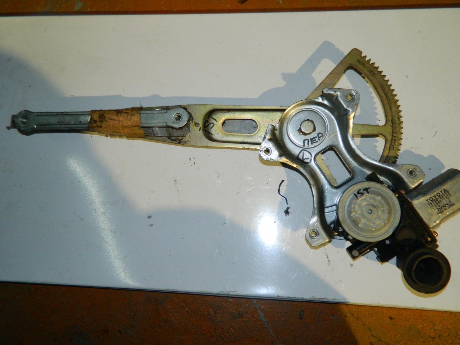 Механизм стекло-подъёмника. Toyota Ist передний левый (б/у)