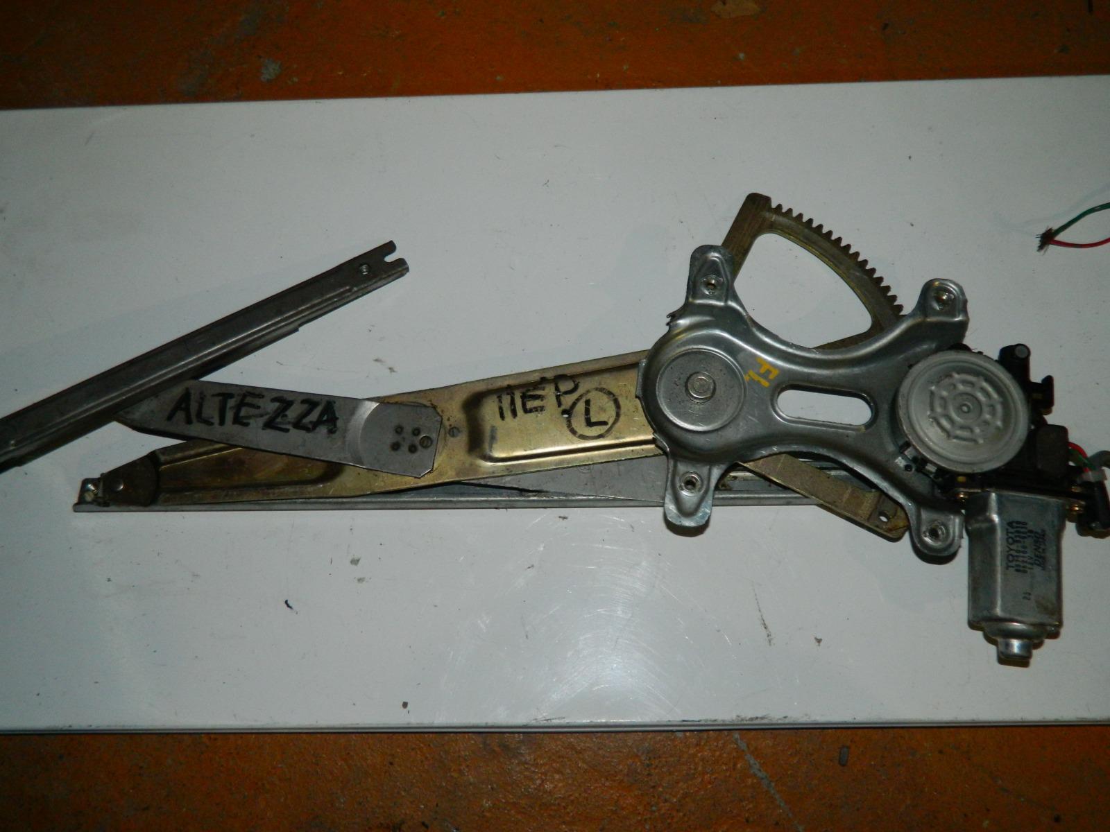 Механизм стекло-подъёмника. Toyota Altezza передний левый (б/у)