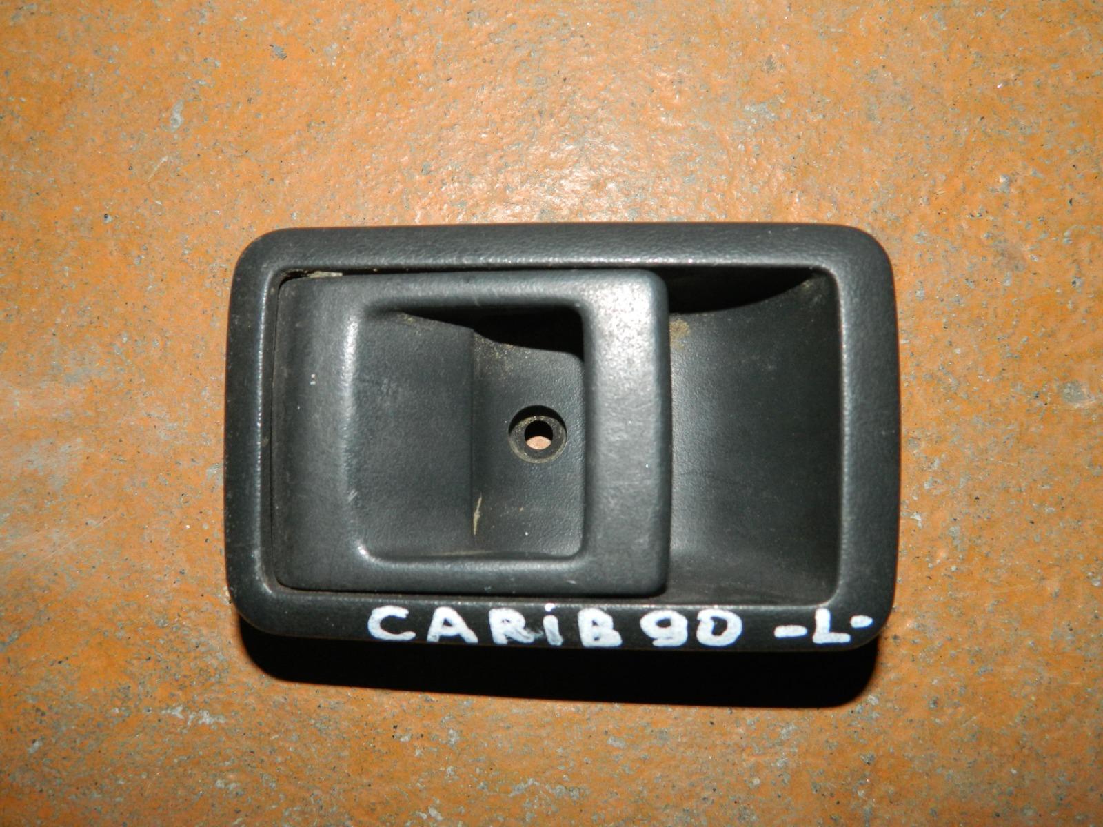 Ручка двери внутренняя Toyota Carib E90 левая (б/у)