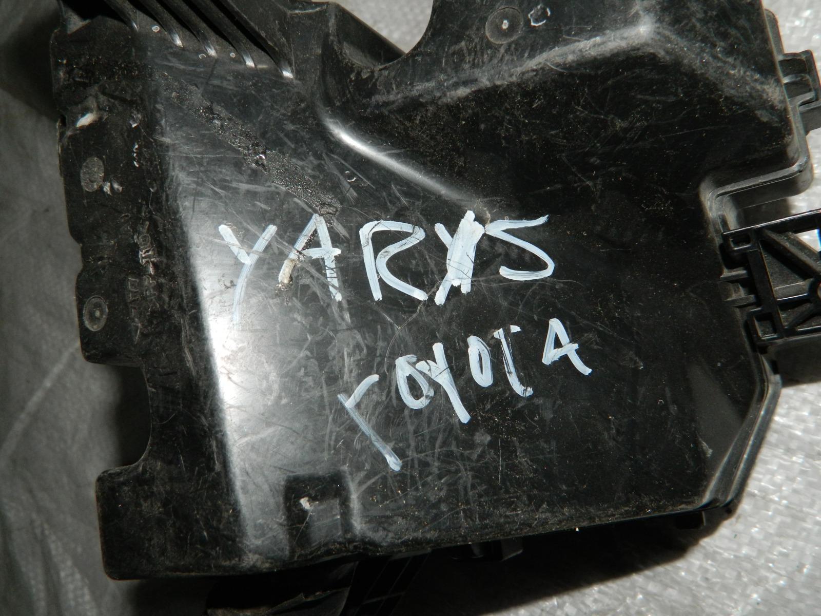 Блок предохранителей Toyota Yaris KSP90 1NDTV (б/у)