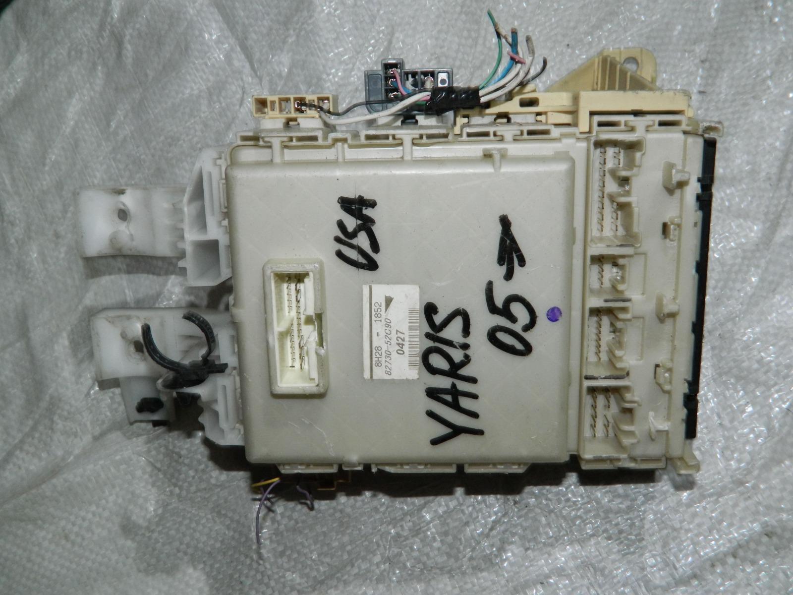 Блок предохранителей Toyota Yaris KSP90 1KRFE (б/у)