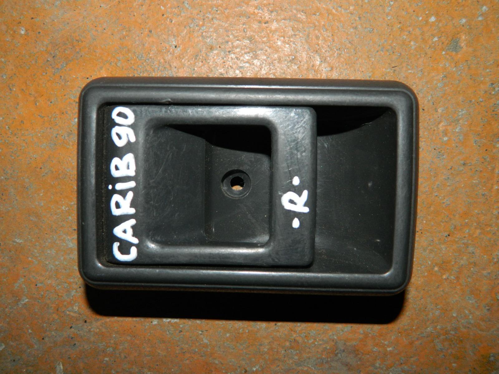 Ручка двери внутренняя Toyota Carib E90 правая (б/у)
