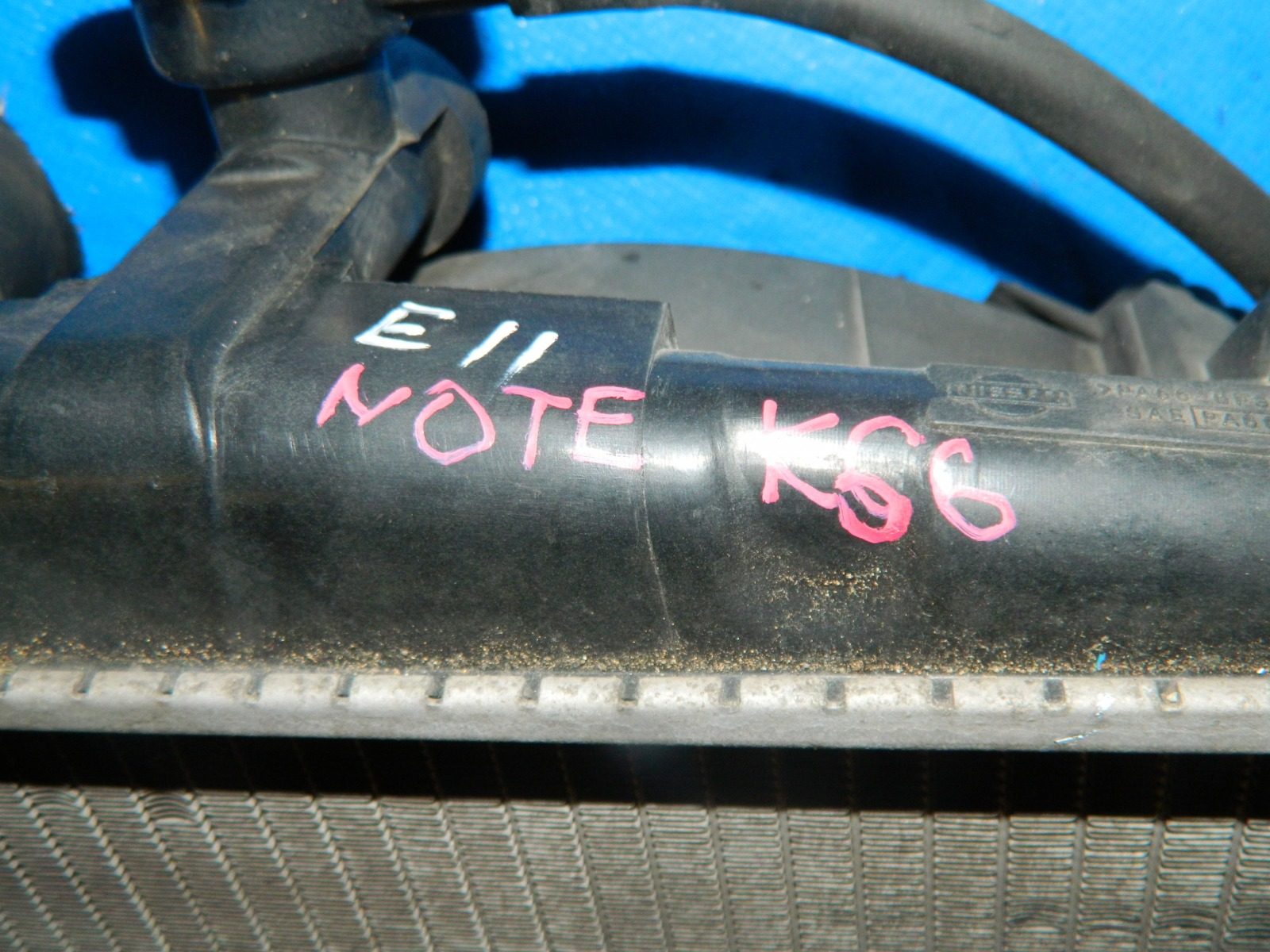 Радиатор двс Nissan Note E11 HR15DE (б/у)