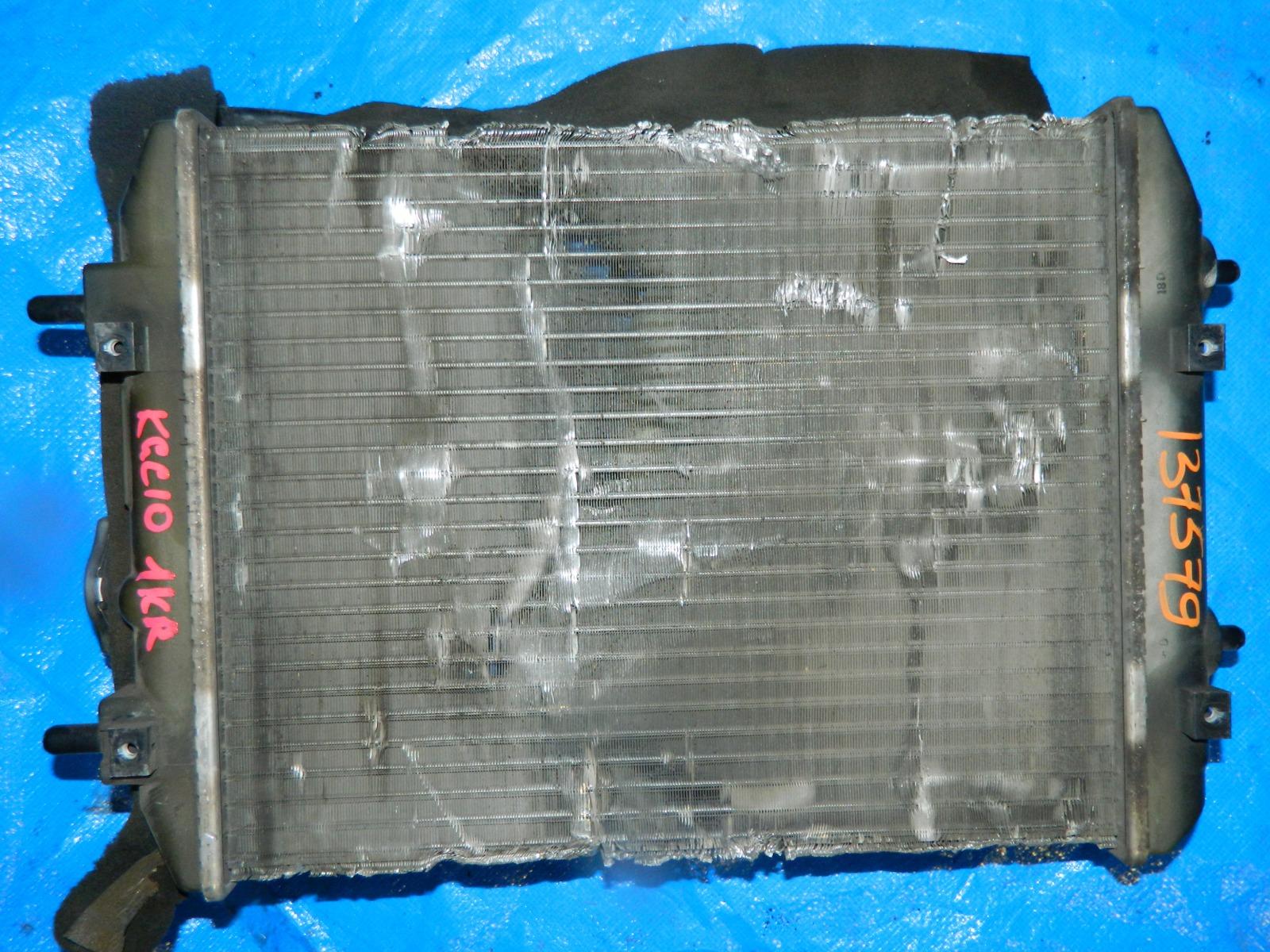 Радиатор двс Toyota Passo KGC10 1KR-FE (б/у)