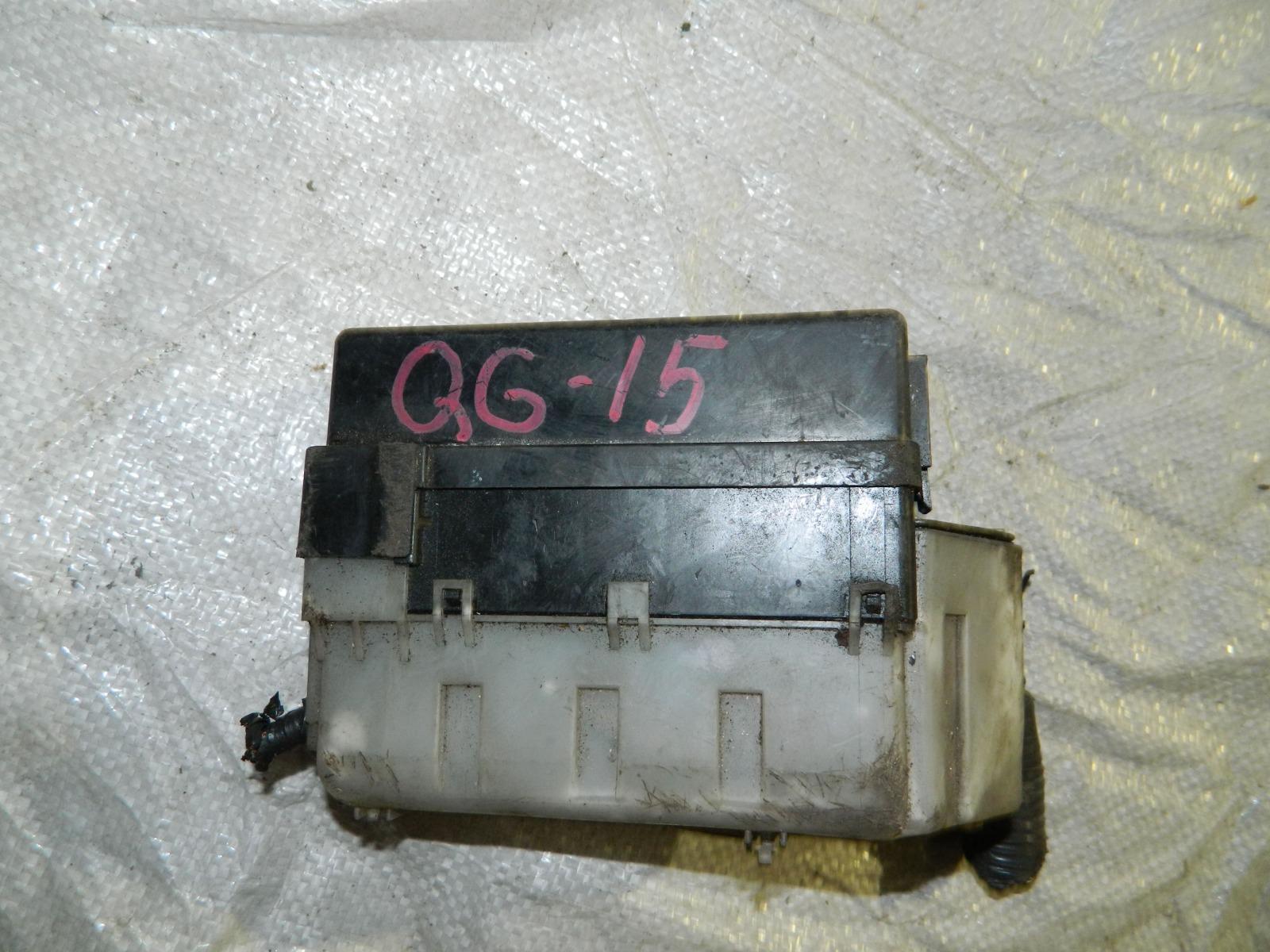 Блок предохранителей Nissan Almera N16 QG18DE (б/у)