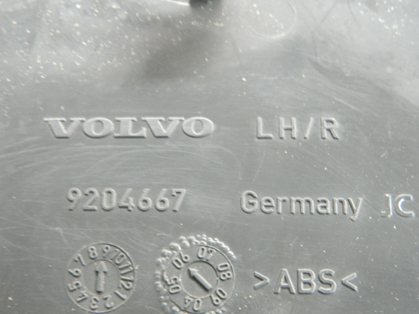 Накладка Volvo S60 задняя левая (б/у)