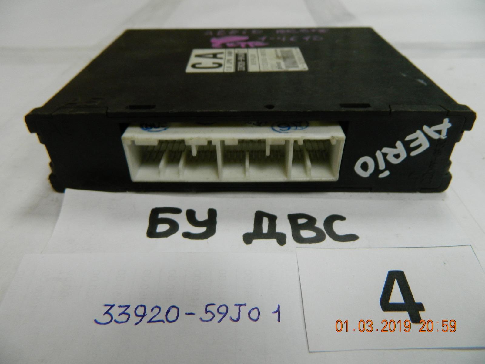 Блок управления двс Suzuki Aerio RD51S M18A (б/у)