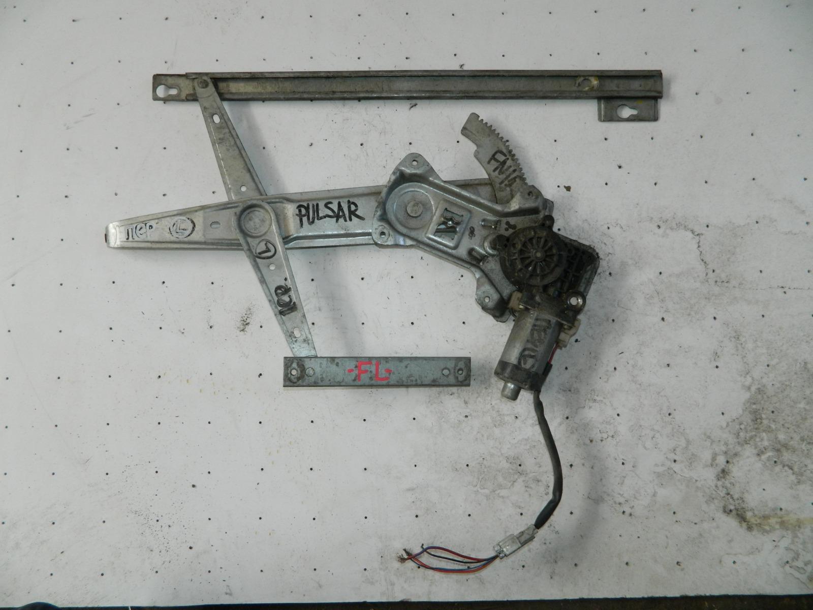Механизм стекло-подъёмника. Nissan Pulsar FN15 передний левый (б/у)