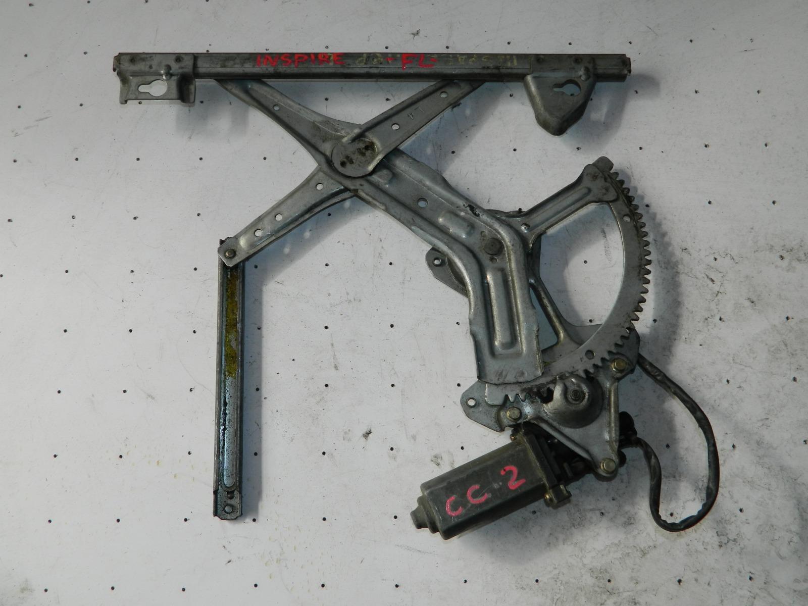 Механизм стекло-подъёмника. Honda Inspire CC2 передний левый (б/у)