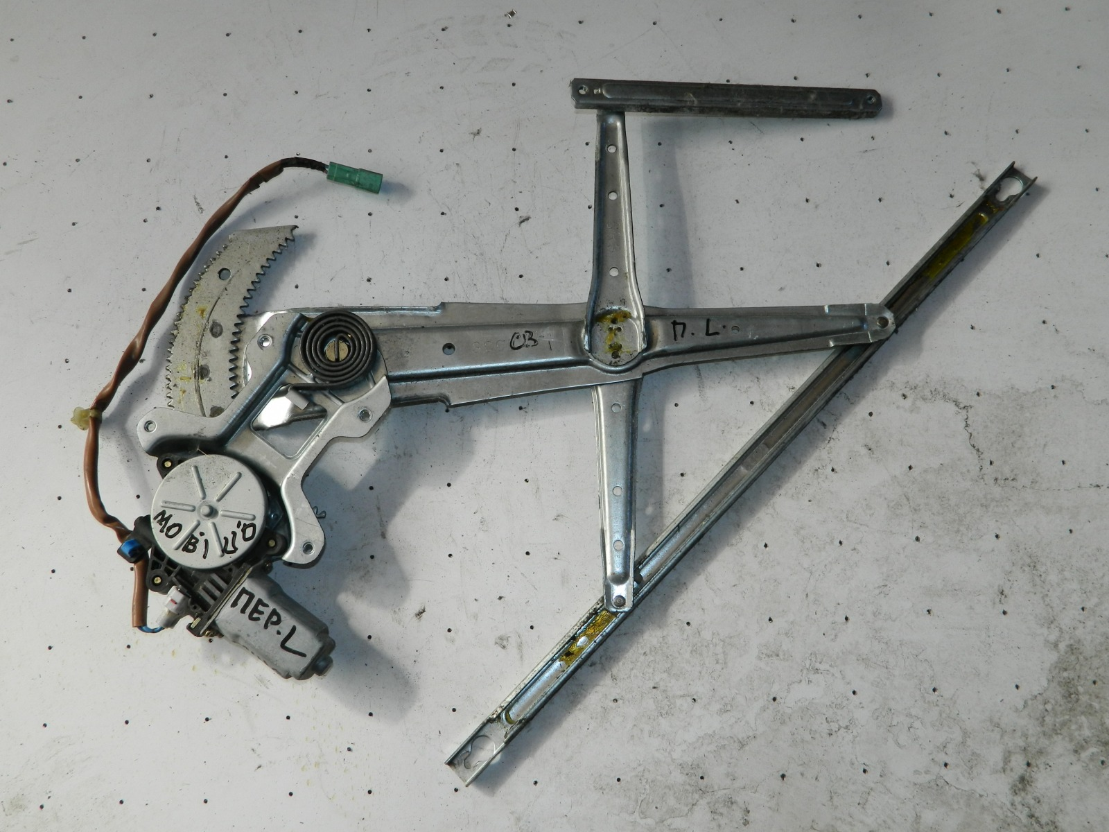 Механизм стекло-подъёмника. Honda Mobilio GB1 передний левый (б/у)