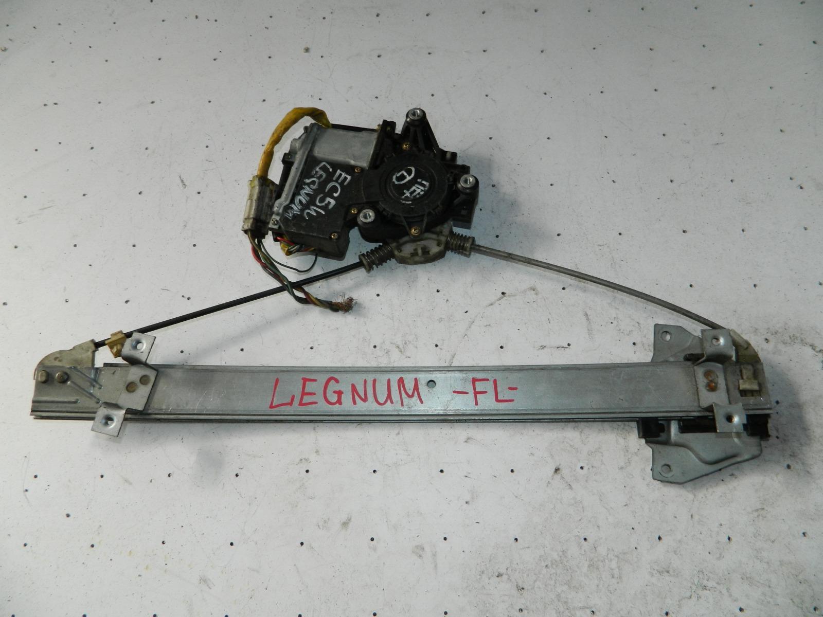 Механизм стекло-подъёмника. Mitsubishi Legnum EC5W передний левый (б/у)