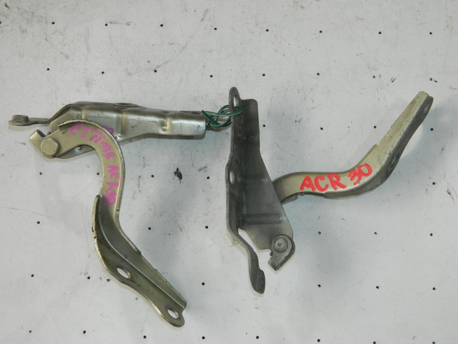 Петля капота Toyota Estima ACR30 левая (б/у)