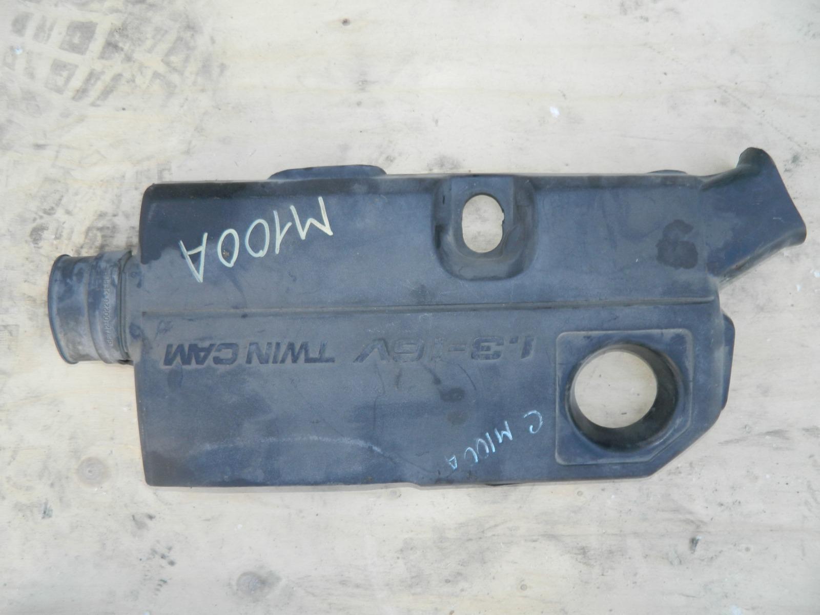 Накладка декоративная на двигатель Toyota Duet M100A (б/у)