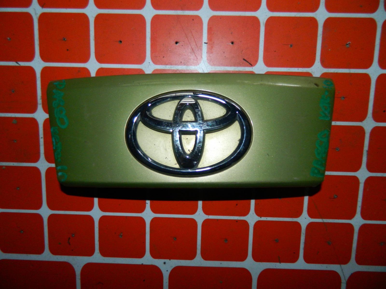 Накладка двери багажника Toyota Passo KGC10 (б/у)