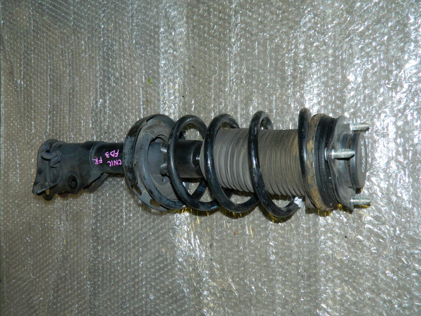 Стойка подвески Honda Civic Hybrid FD3 передняя правая (б/у)