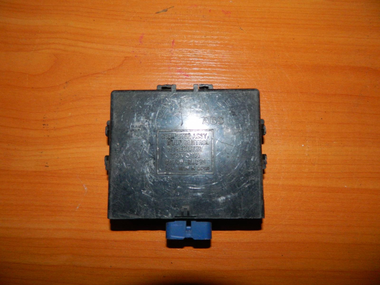 Блок управления дверьми Toyota Caldina ST210 (б/у)