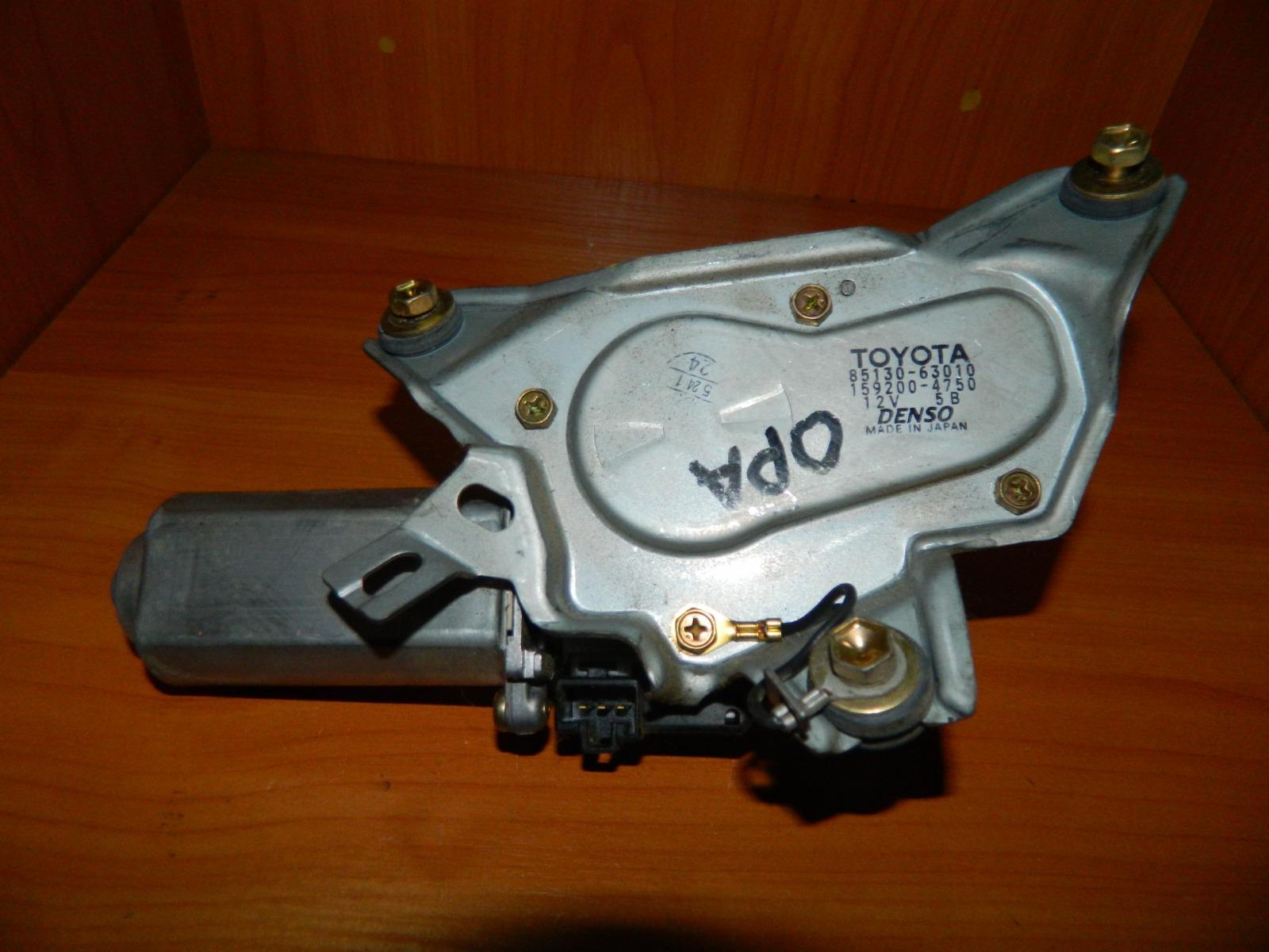 Мотор дворников Toyota Opa ZCT10 задний (б/у)