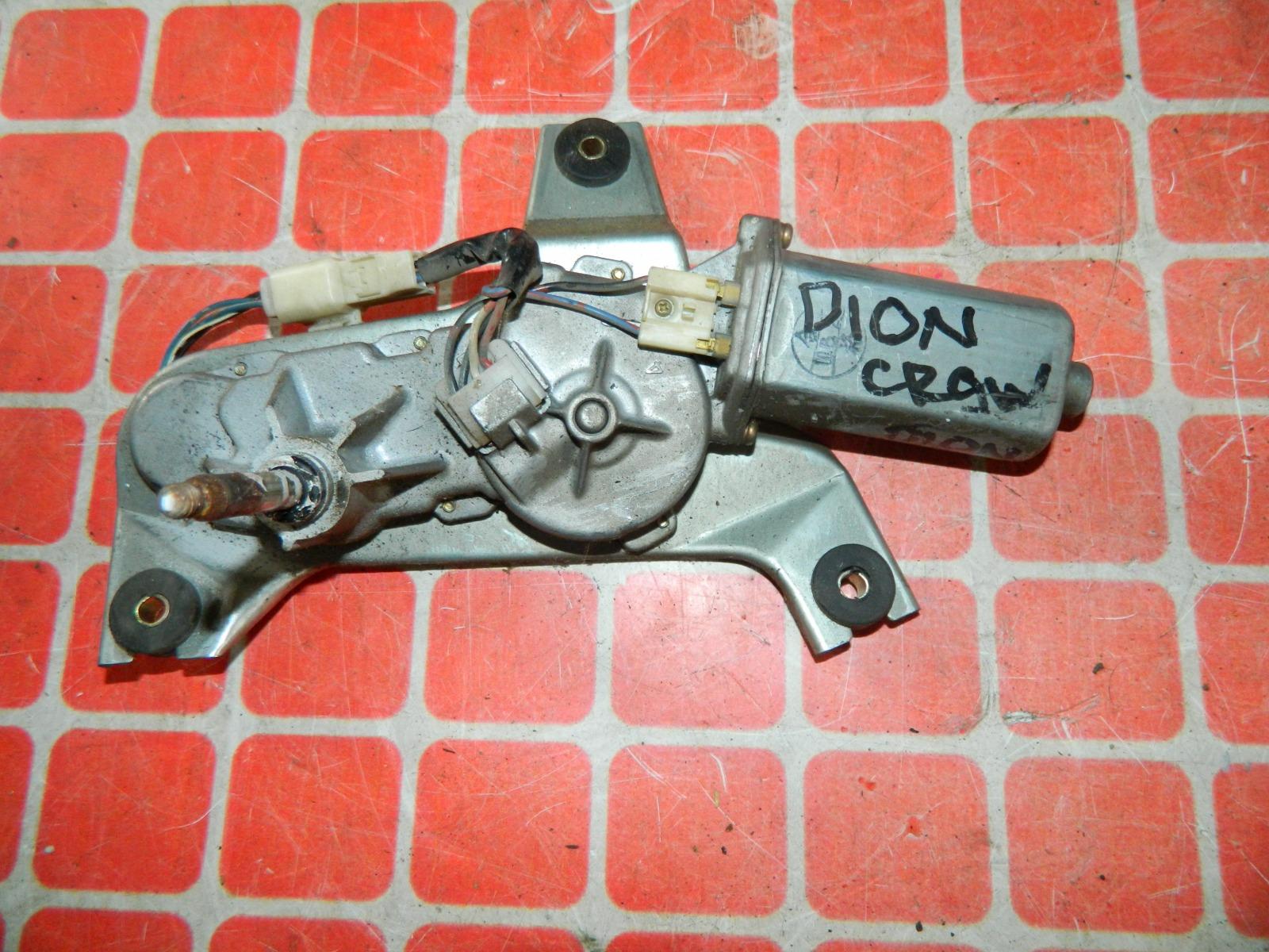 Мотор дворников Mitsubishi Dion CR9W задний (б/у)
