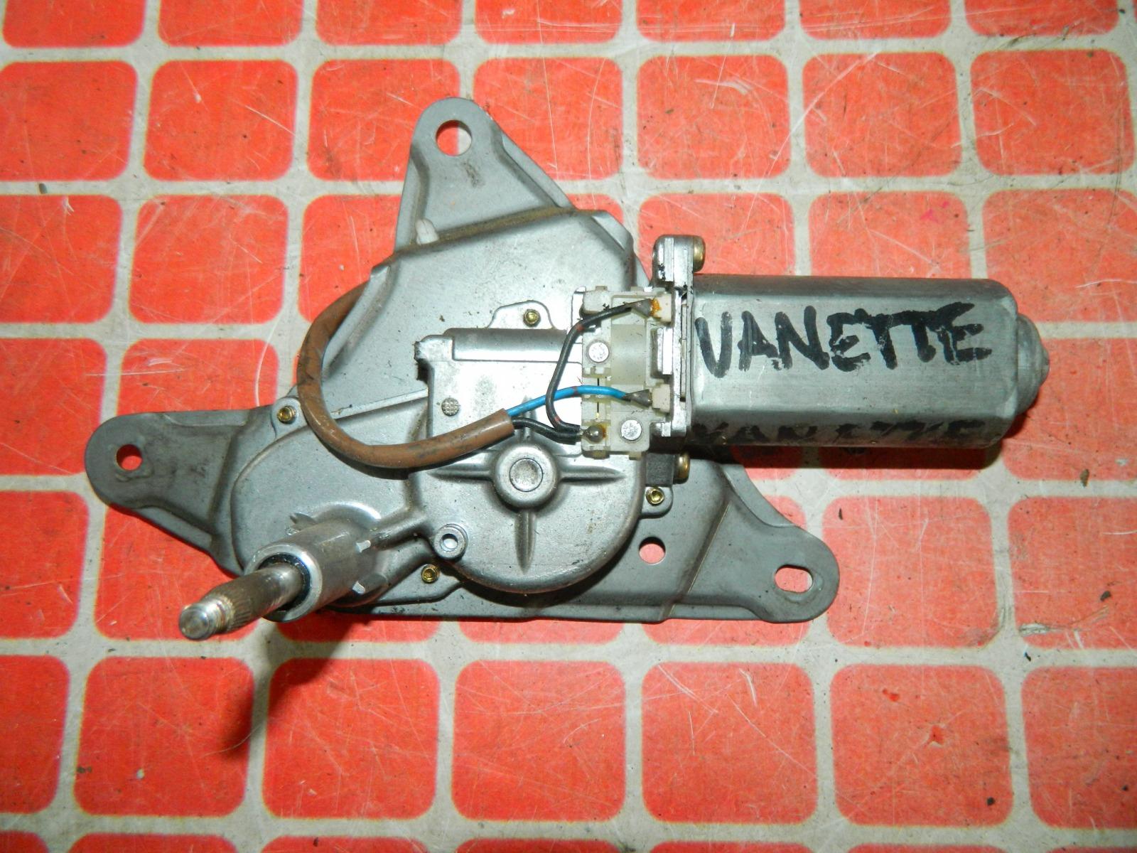 Мотор дворников Nissan Vanette задний (б/у)