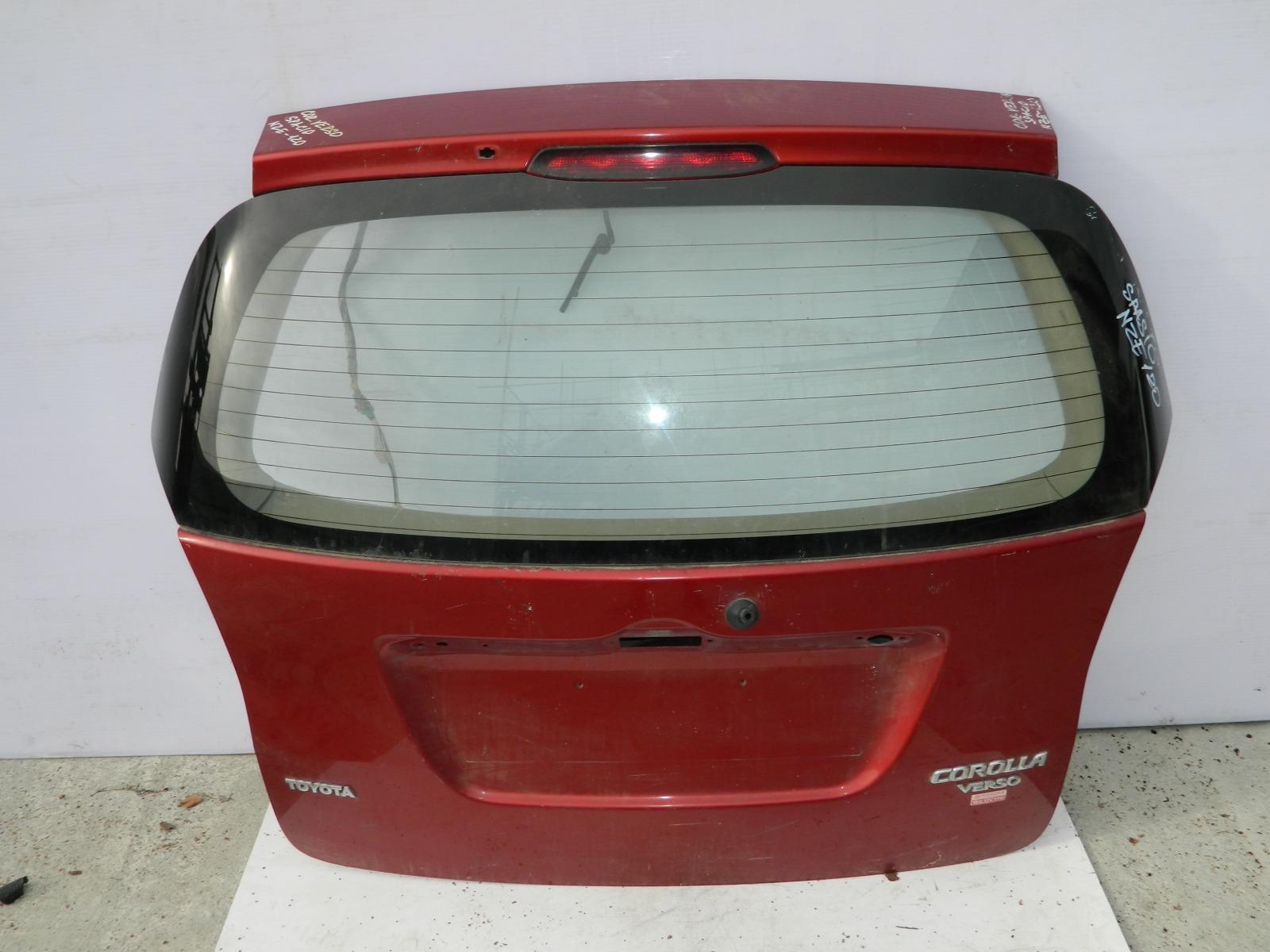 Дверь 5-я Toyota Corolla Verso NZE120 (б/у)