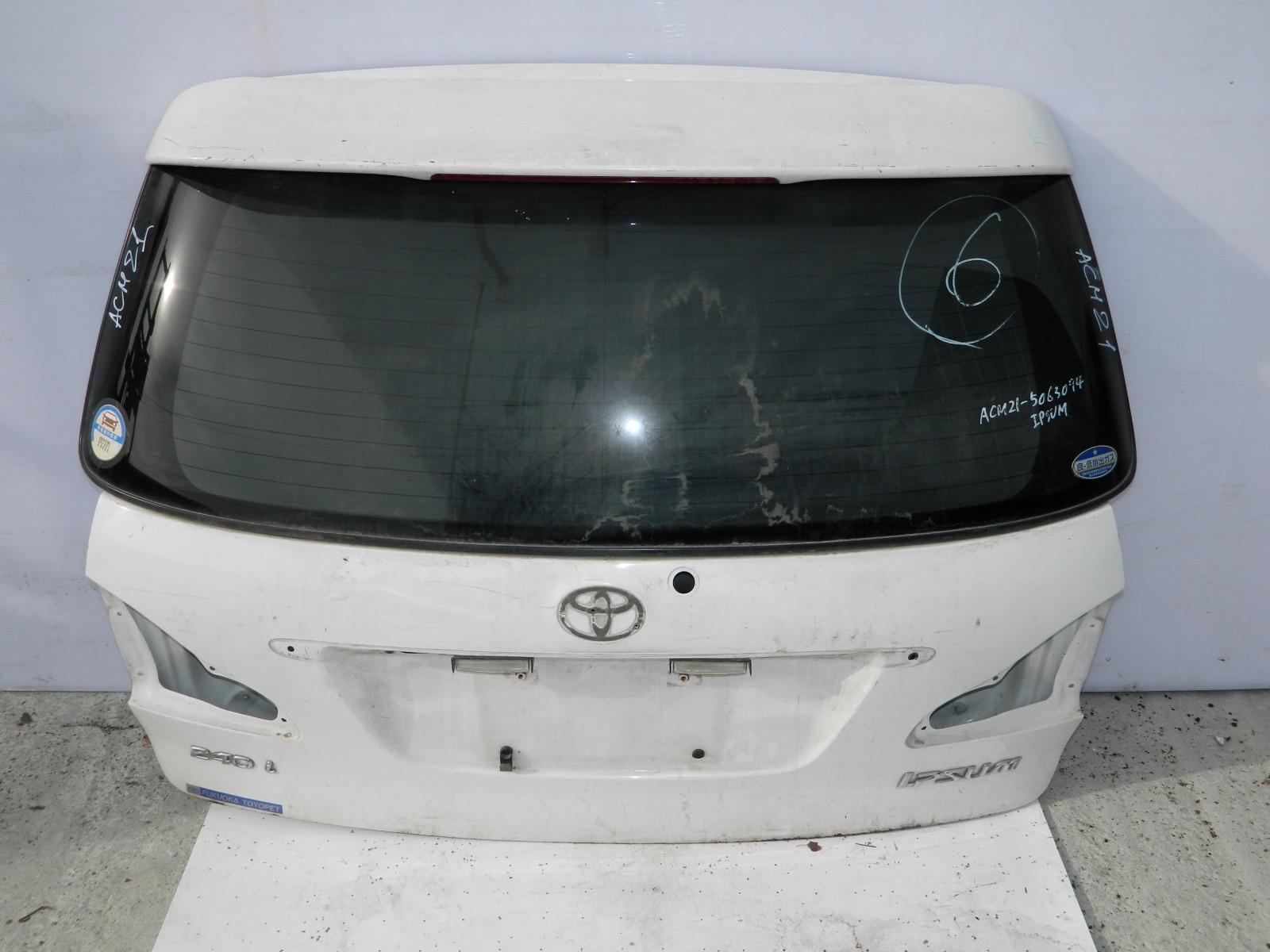 Дверь 5-я Toyota Ipsum ACM21 (б/у)