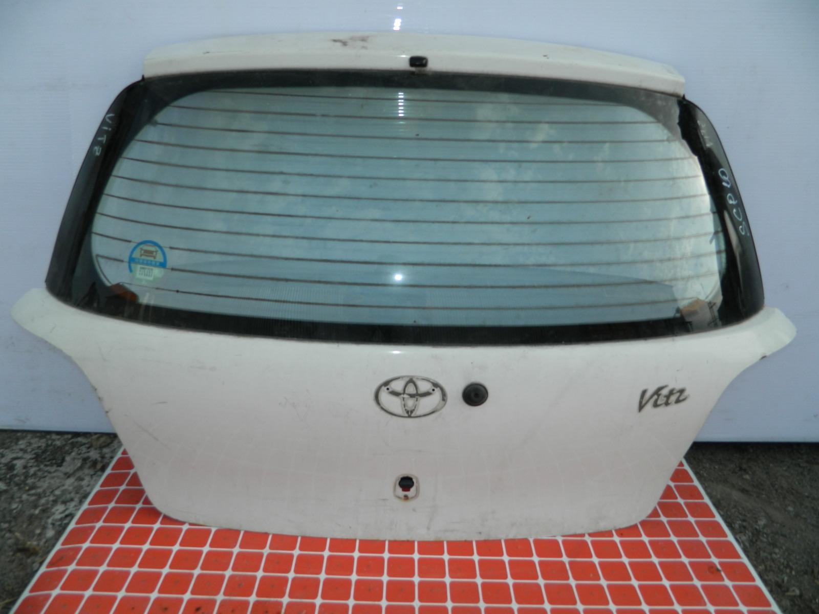 Дверь 5-я Toyota Vitz SCP10 (б/у)