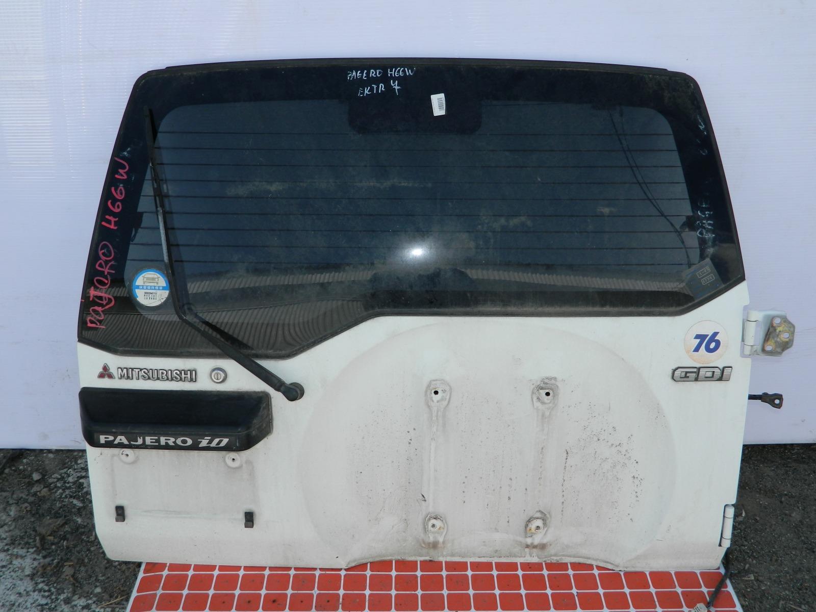 Дверь 5-я Mitsubishi Pajero Io H66W (б/у)