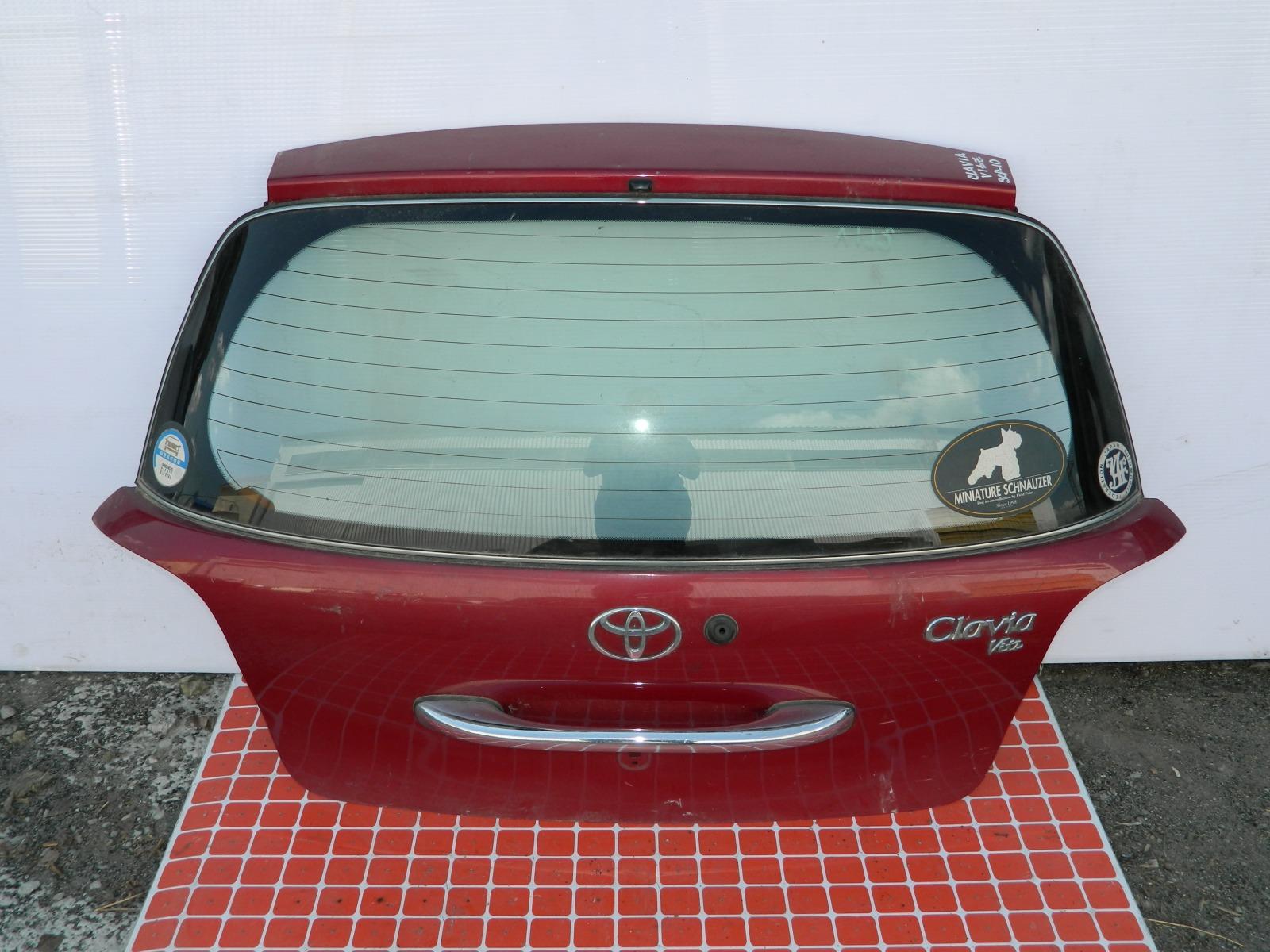 Дверь 5-я Toyota Vitz Clavia SCP10 (б/у)
