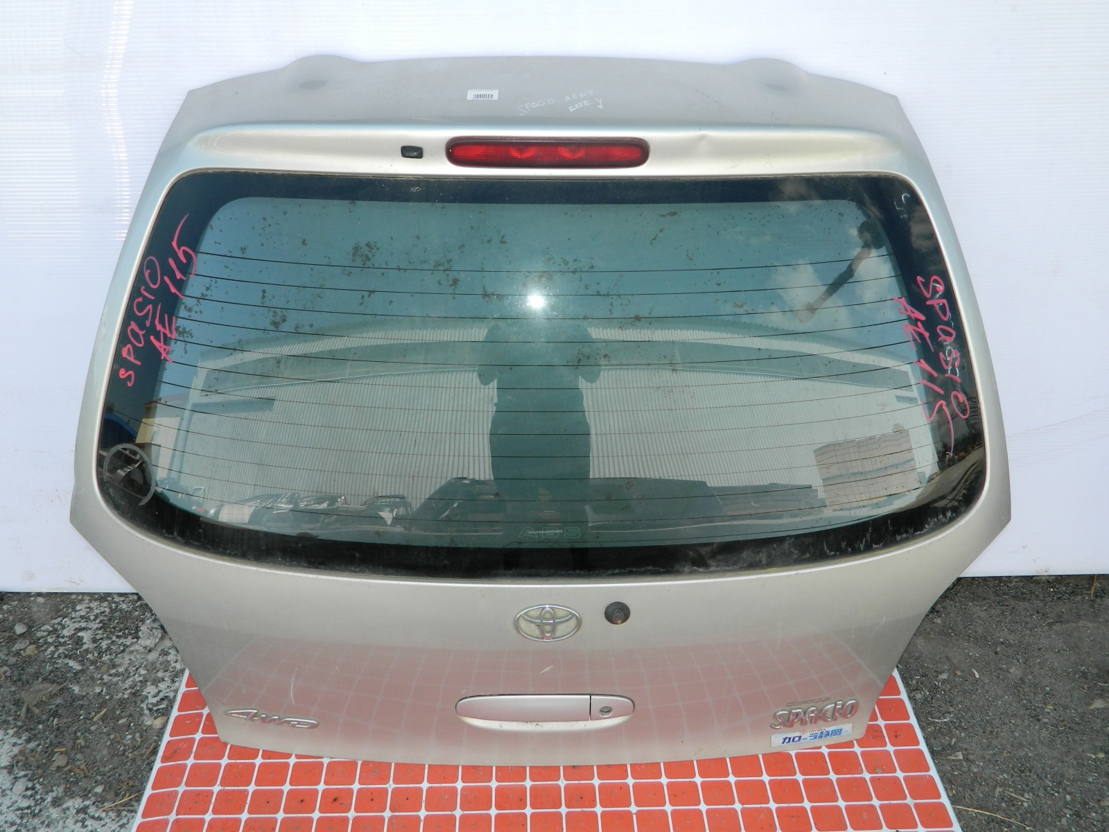 Дверь 5-я Toyota Corolla Spacio AE115 (б/у)