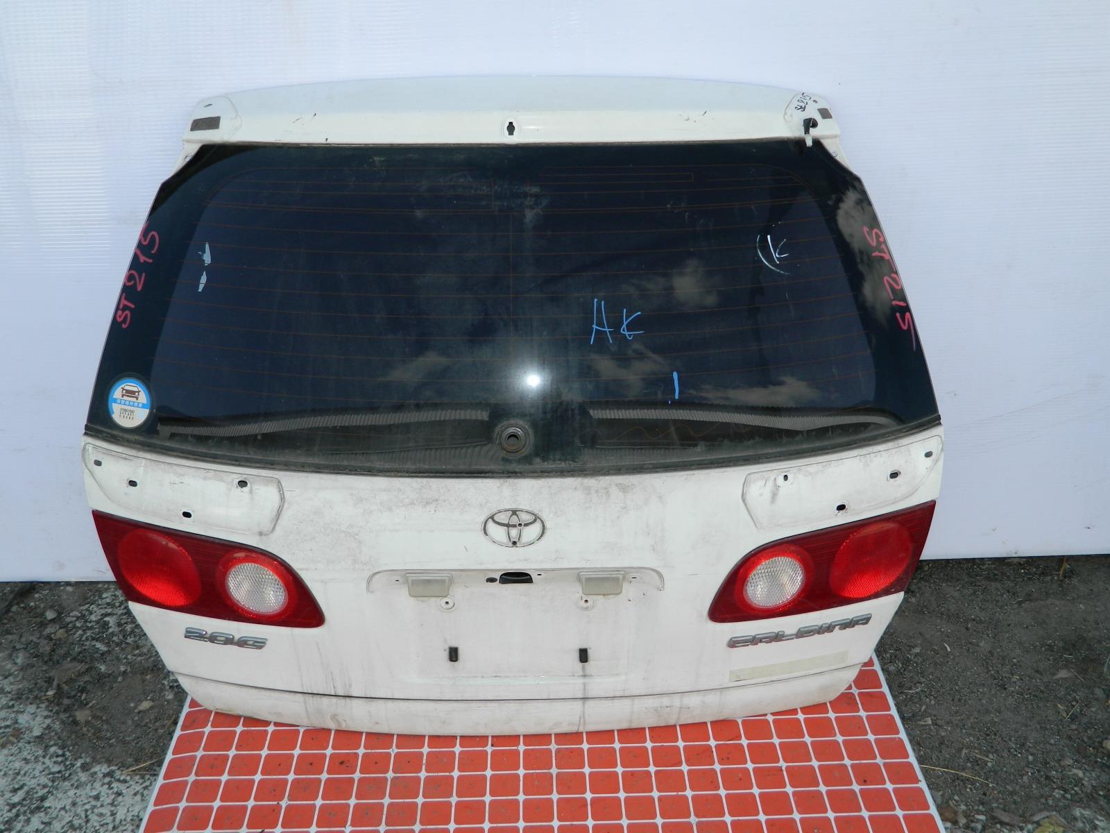 Дверь 5-я Toyota Caldina ST215 (б/у)