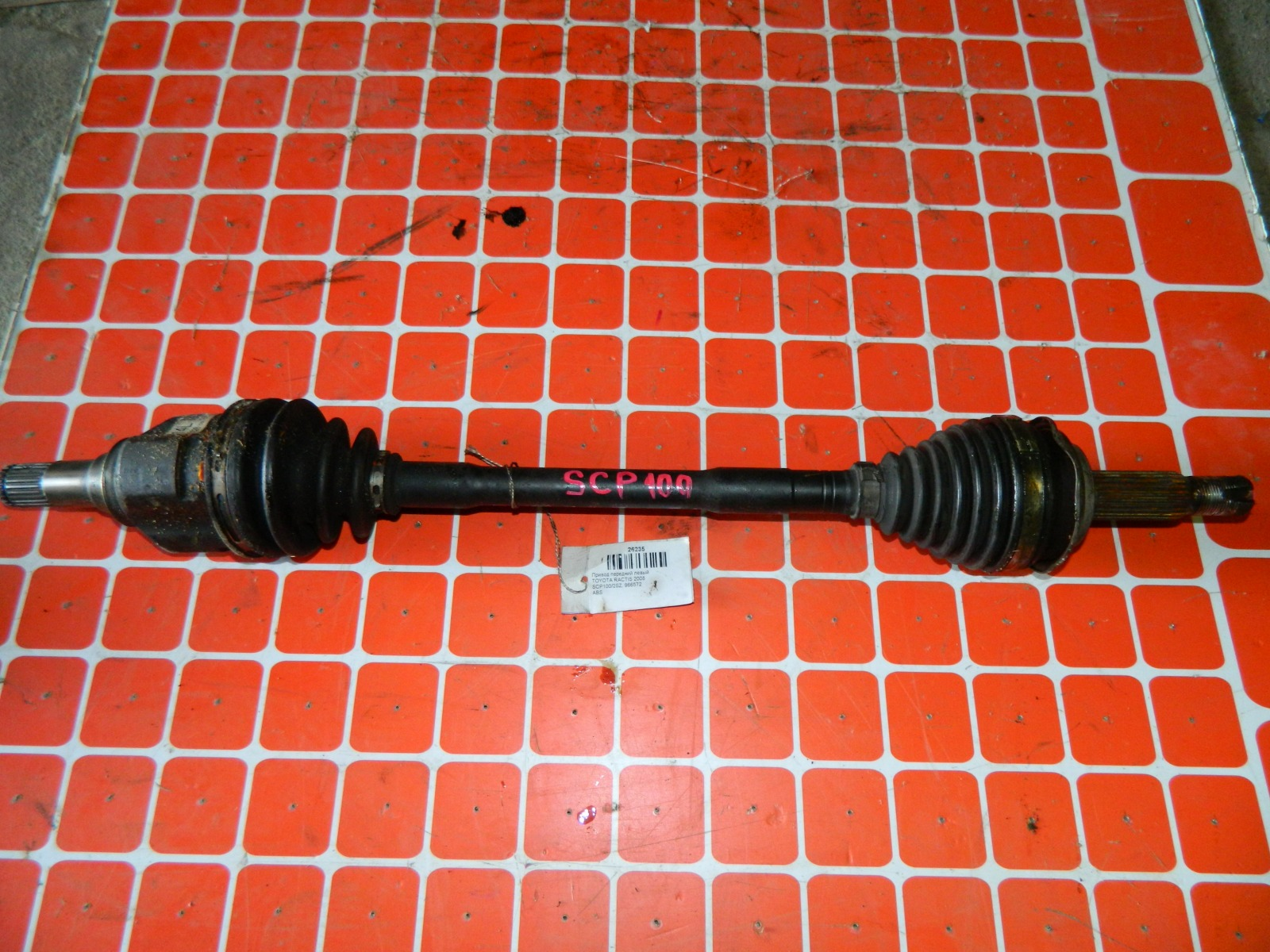 Привод Toyota Ractis SCP100 2SZ-FE 2008 (б/у)