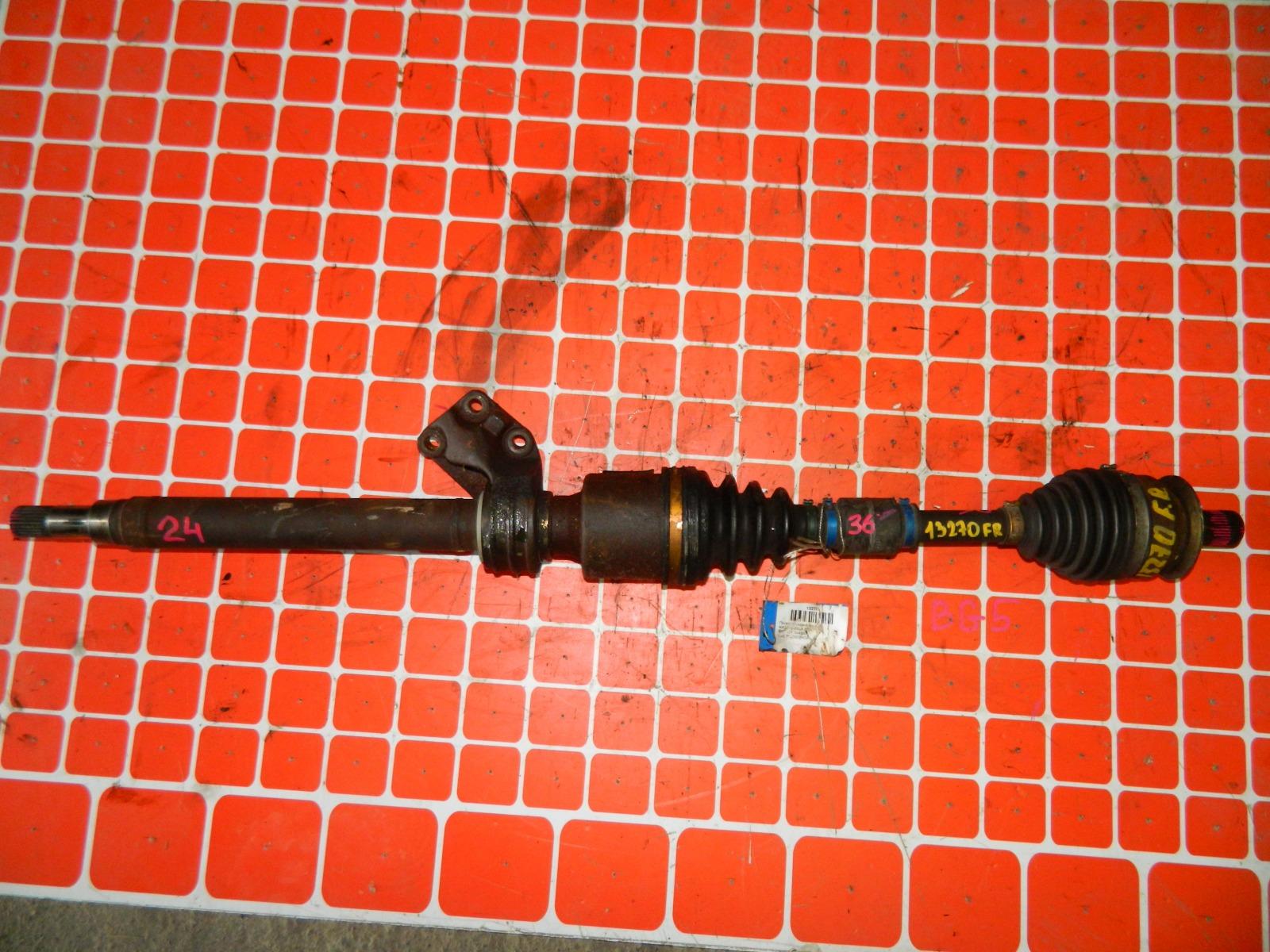 Привод Mazda Axela BK5P ZY 2004 передний правый (б/у)