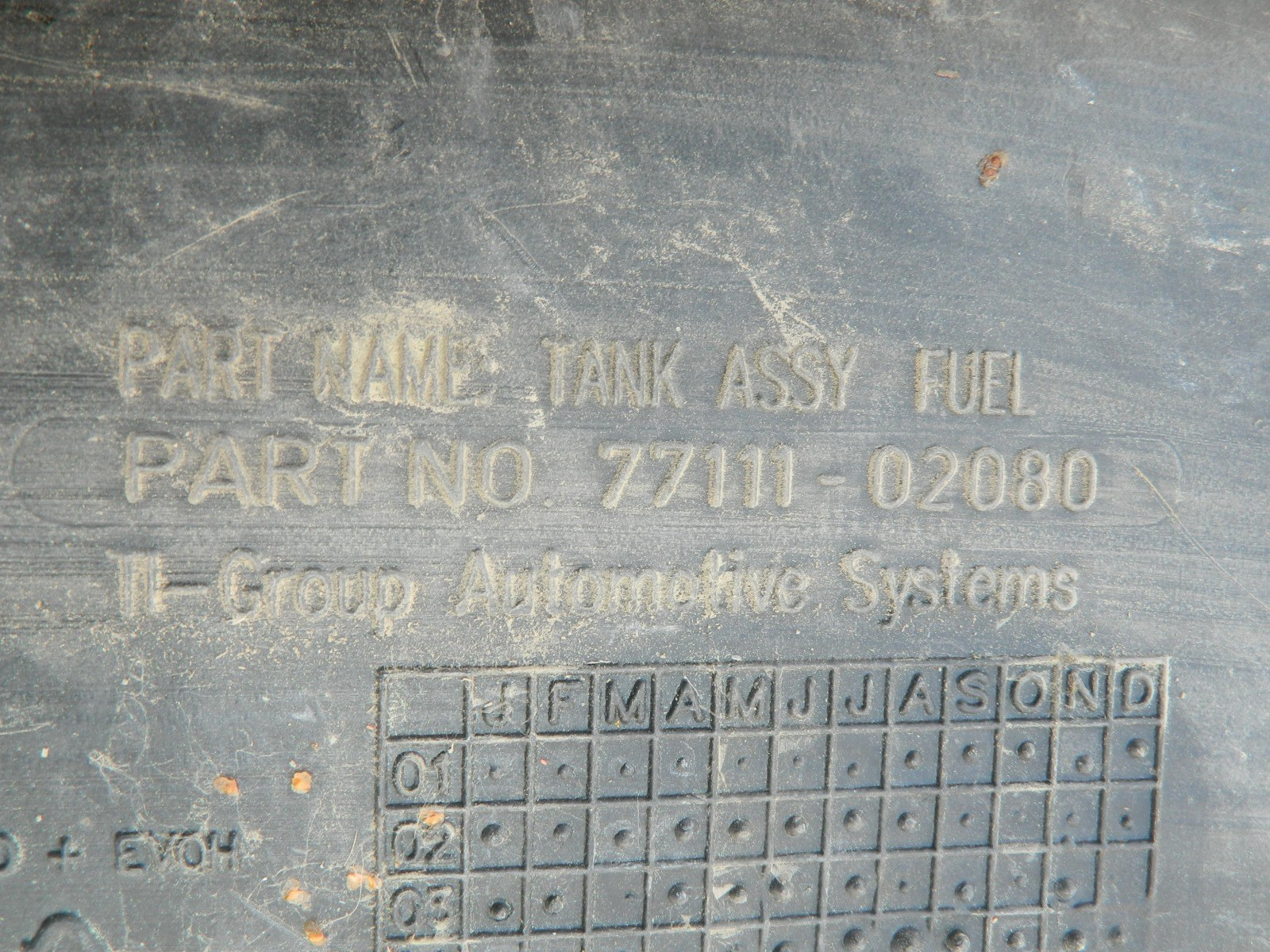 Бензобак Toyota Avensis AZT250 (б/у)