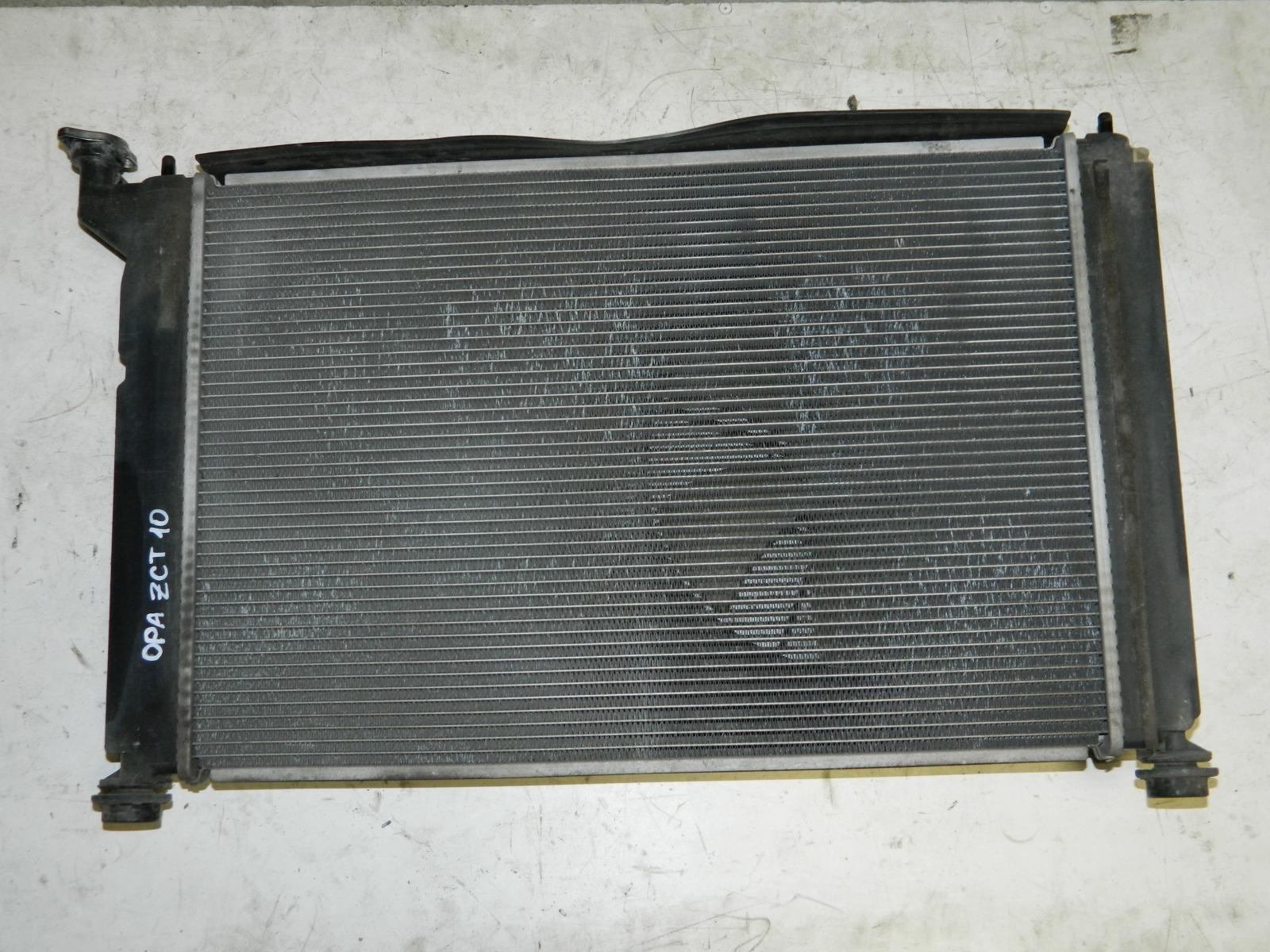 Радиатор двс Toyota Opa ZCT10 (б/у)