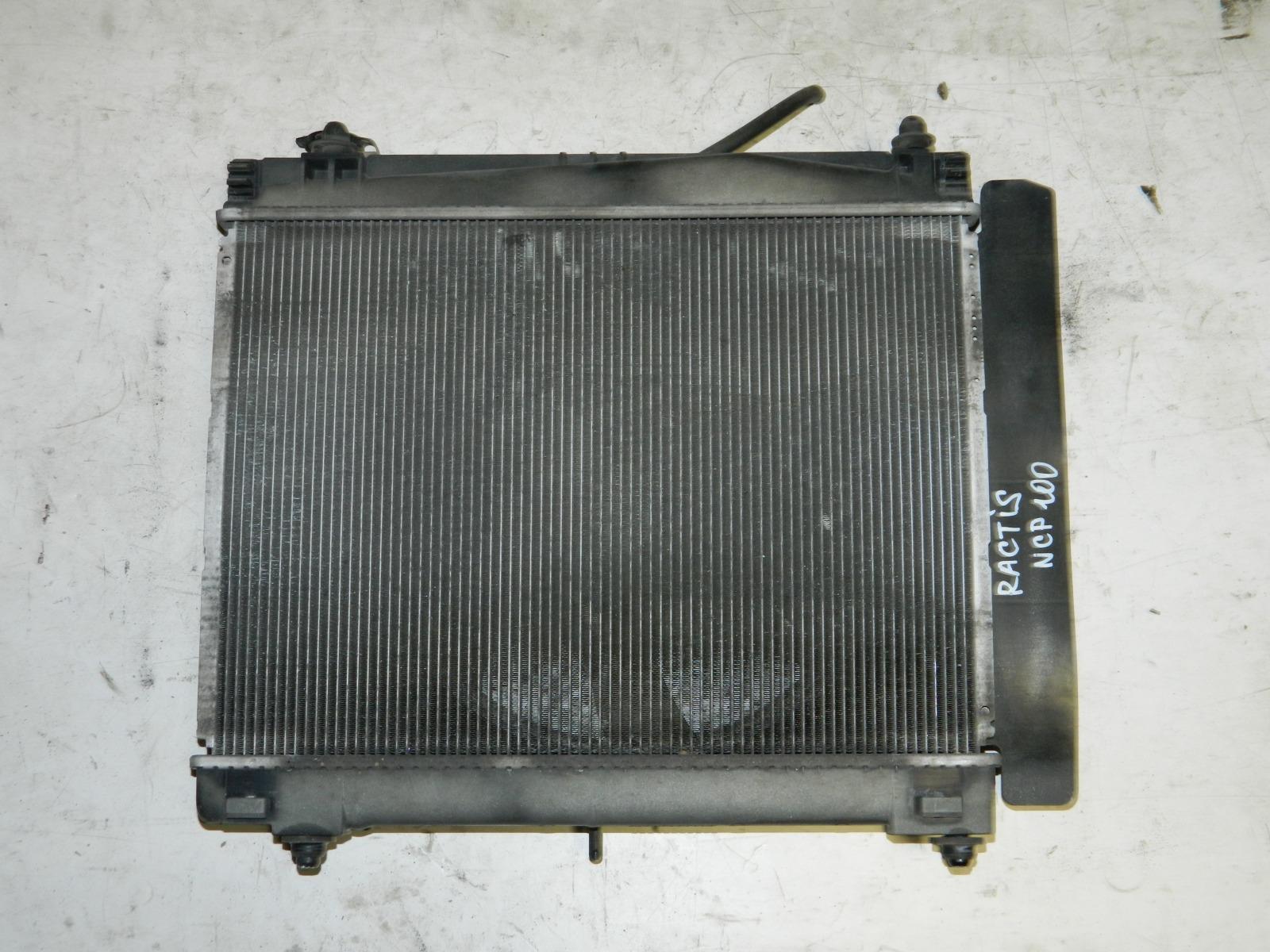 Радиатор двс Toyota Ractis NCP100 (б/у)
