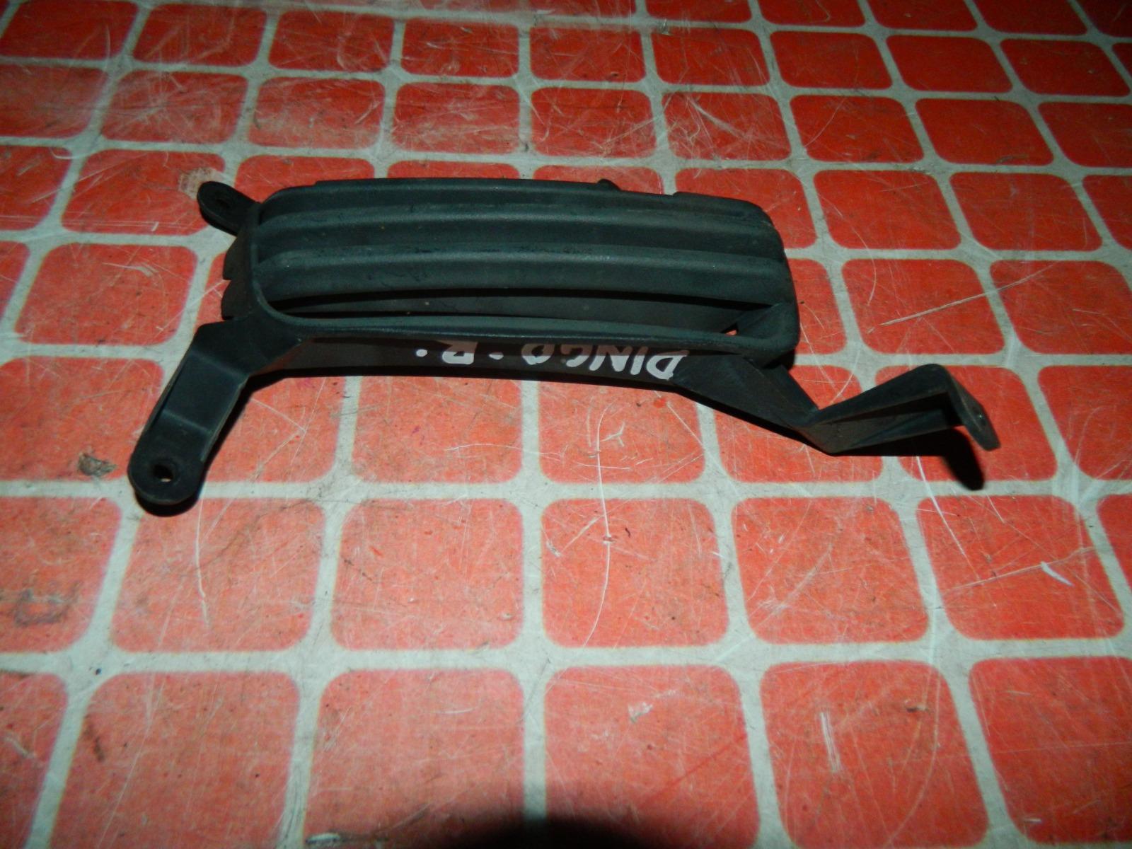 Решетка бампера Mitsubishi Dingo передняя правая (б/у)