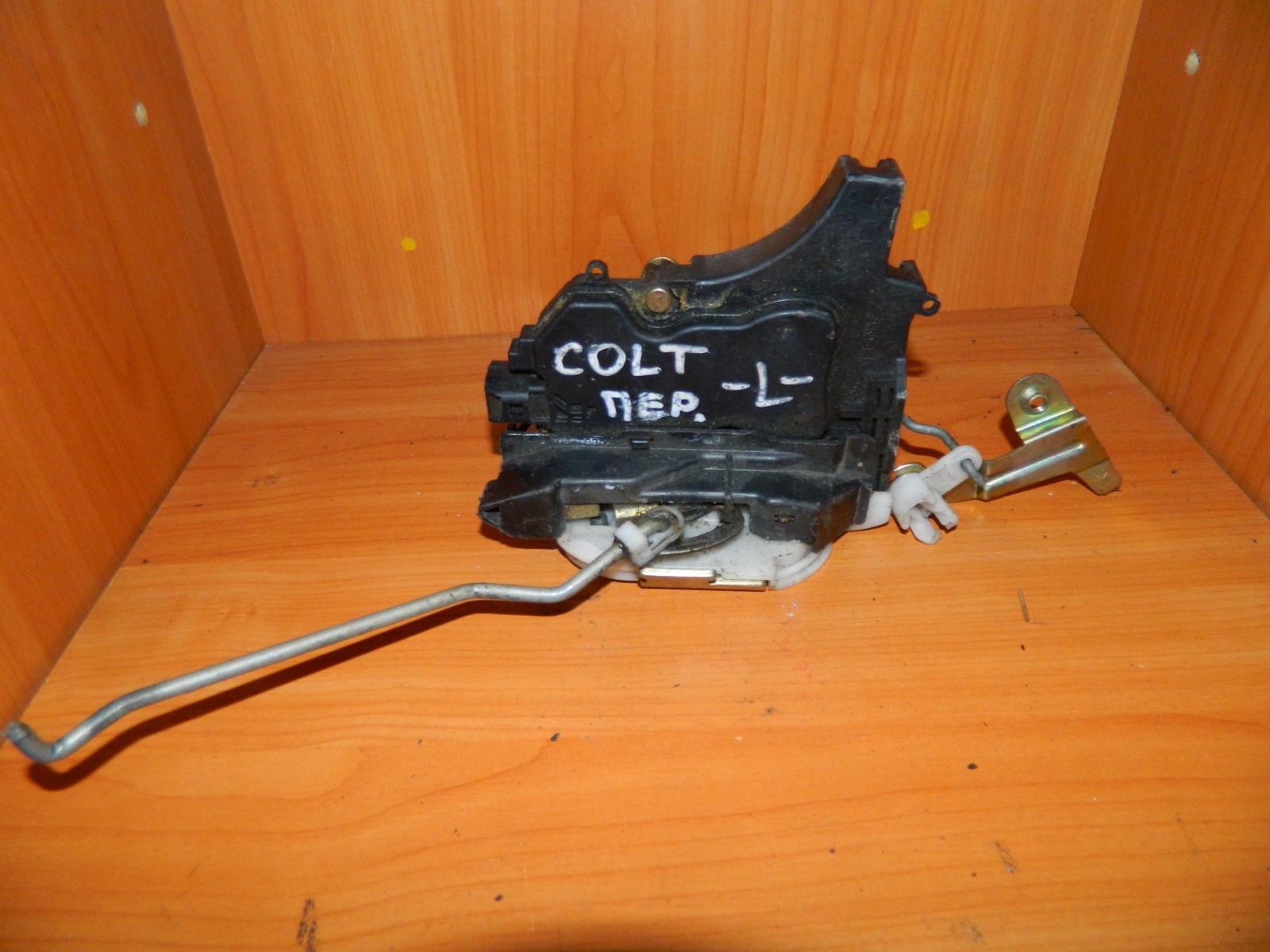 Замок двери Mitsubishi Colt передний левый (б/у)