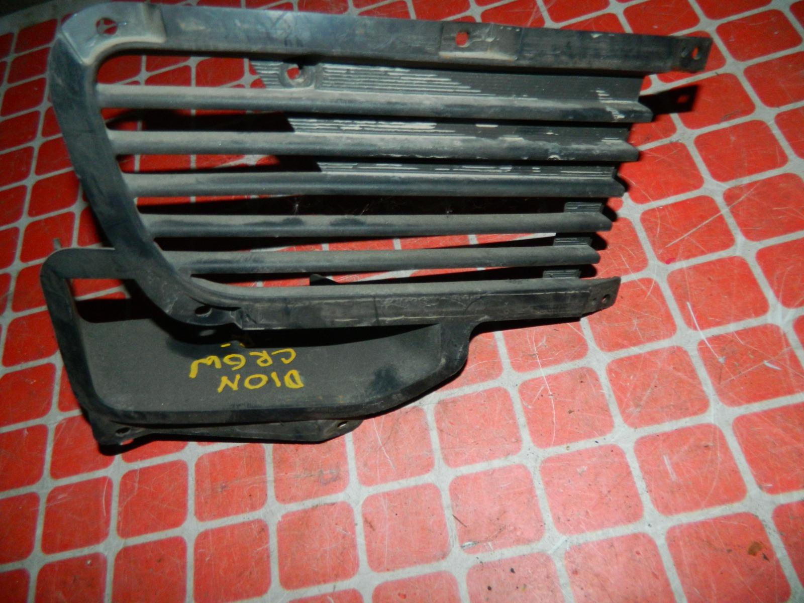 Решетка бампера Mitsubishi Dion CR9W передняя правая (б/у)