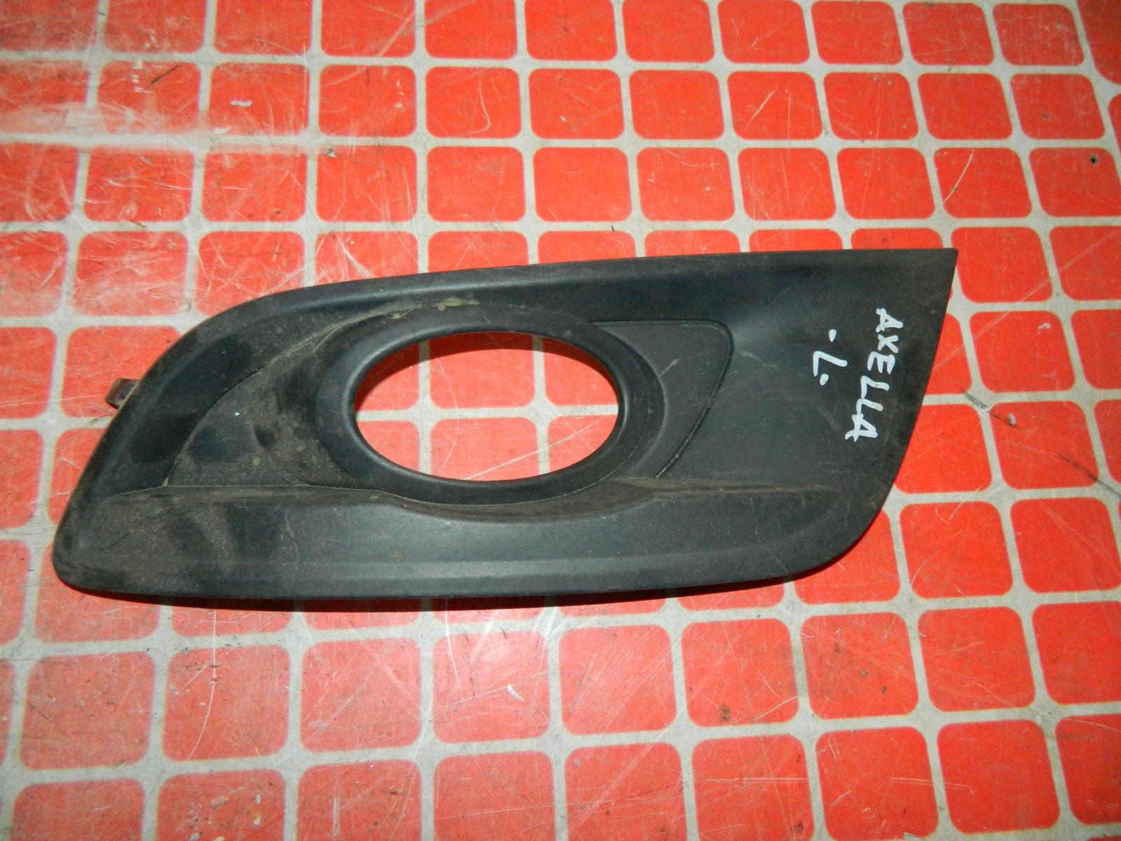 Рамка противотуманной фары Mazda Axela левая (б/у)