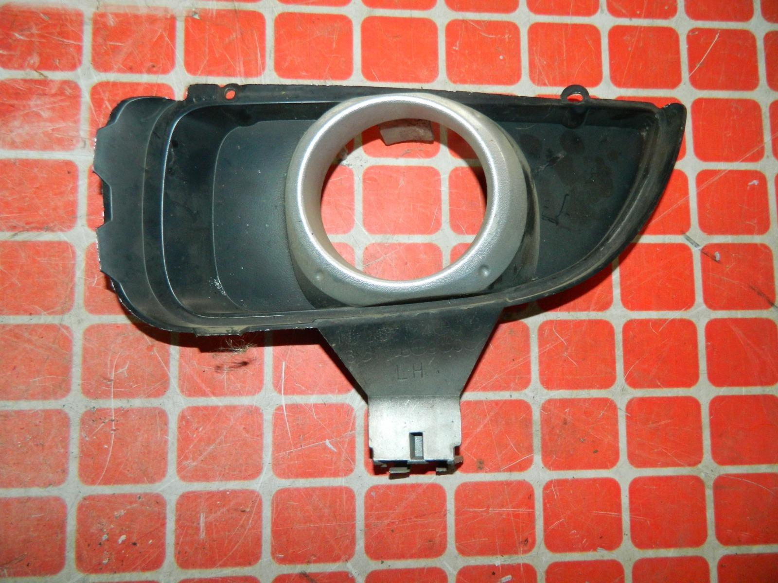 Рамка противотуманной фары Mazda Atenza левая (б/у)