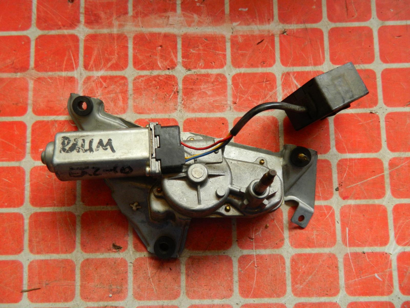 Мотор дворников Toyota Raum EXZ10 задний (б/у)
