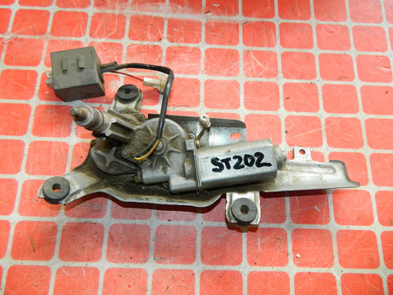 Мотор дворников Toyota Celica ST202 задний (б/у)