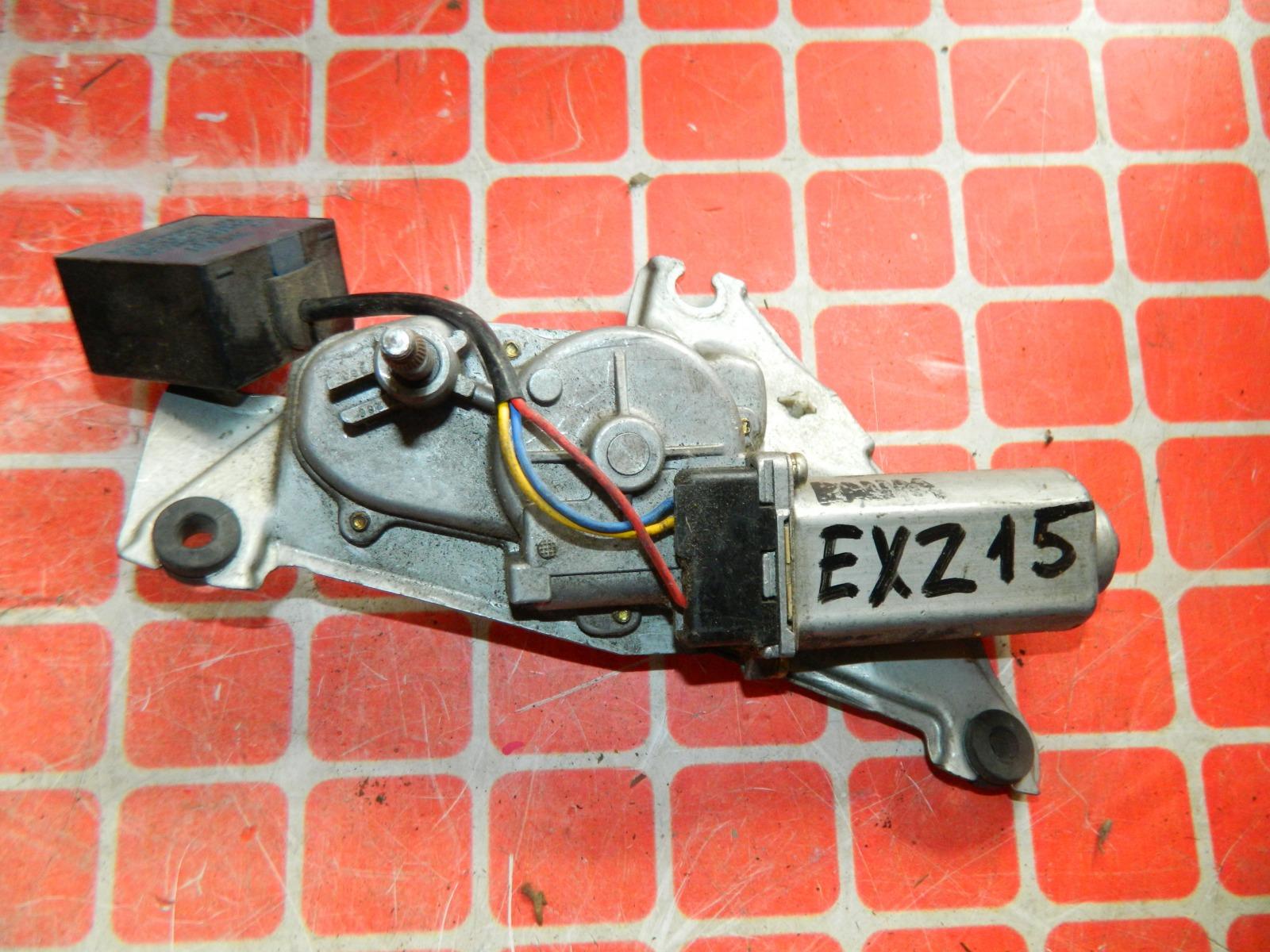 Мотор дворников Toyota Raum EXZ15 задний (б/у)