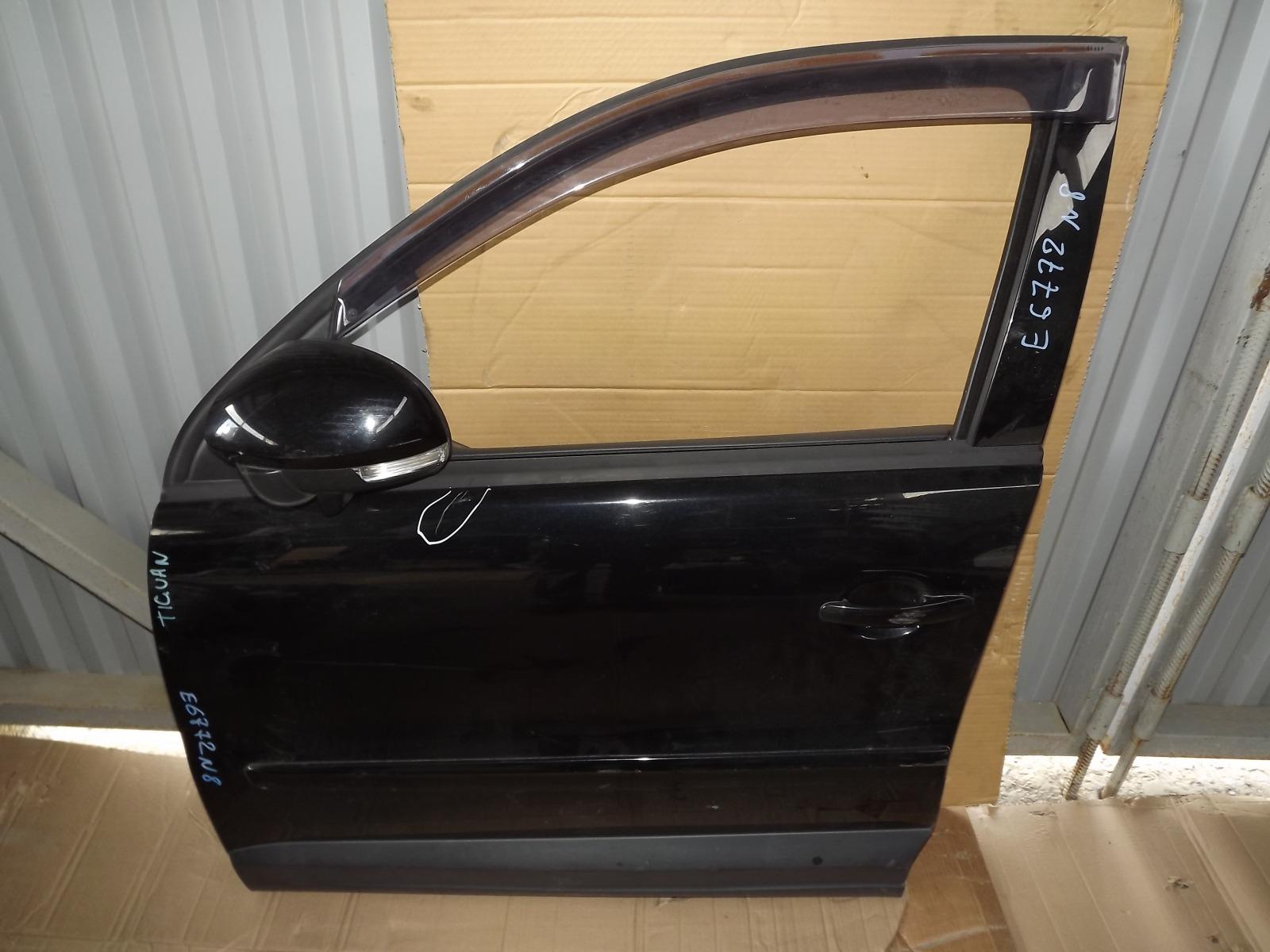 Зеркало Volkswagen Tiguan CAW 2008 переднее левое (б/у)