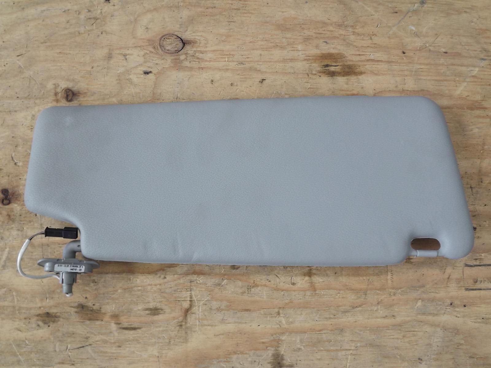 Козырек солнцезащитный Bmw X3 E83 N52B25AF левый (б/у)